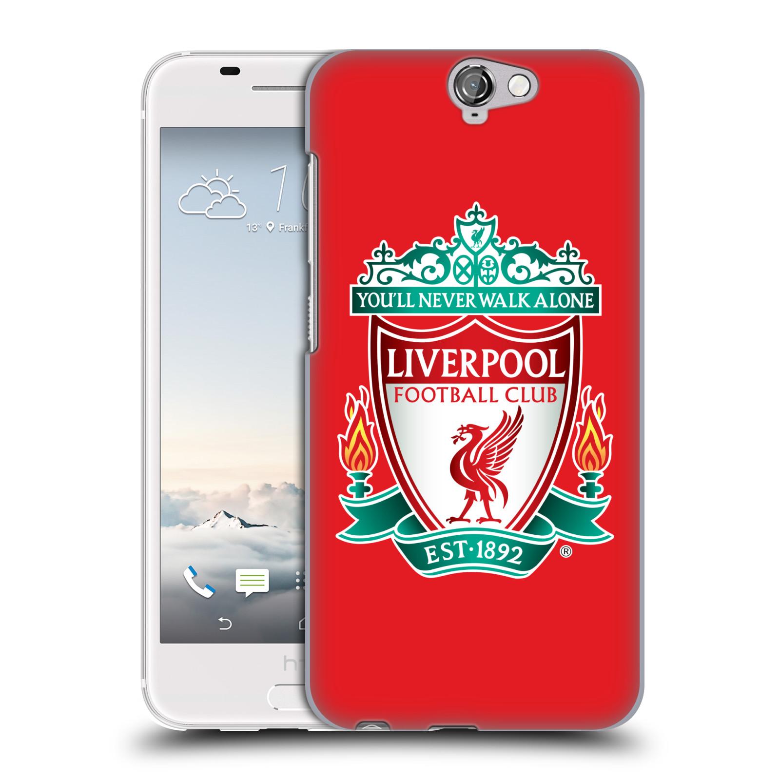 Plastové pouzdro na mobil HTC One A9 HEAD CASE ZNAK LIVERPOOL FC OFFICIAL RED (Kryt či obal na mobilní telefon Liverpool FC Official pro HTC One A9)