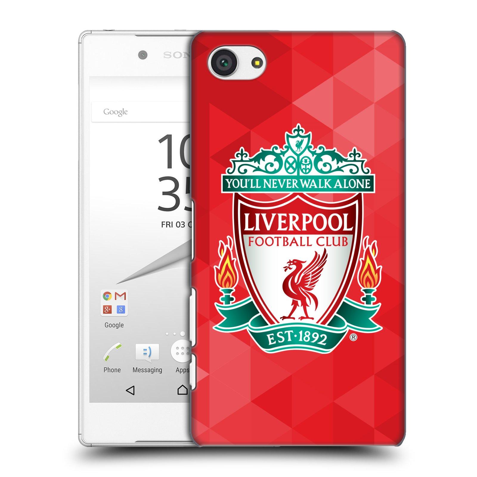 Plastové pouzdro na mobil Sony Xperia Z5 Compact HEAD CASE ZNAK LIVERPOOL FC OFFICIAL GEOMETRIC RED