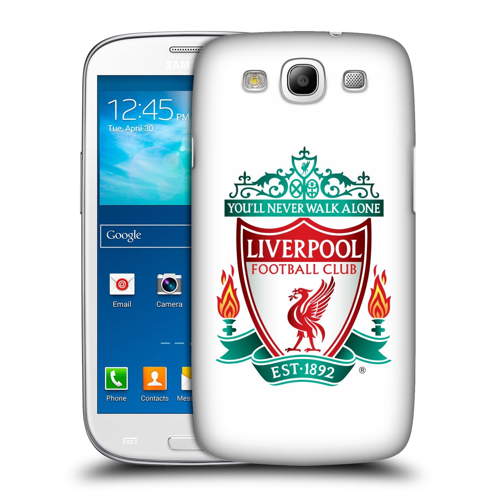 Plastové pouzdro na mobil Samsung Galaxy S3 Neo HEAD CASE ZNAK LIVERPOOL FC OFFICIAL WHITE (Kryt či obal na mobilní telefon Liverpool FC Official pro Samsung Galaxy S3 Neo GT-i9301i)