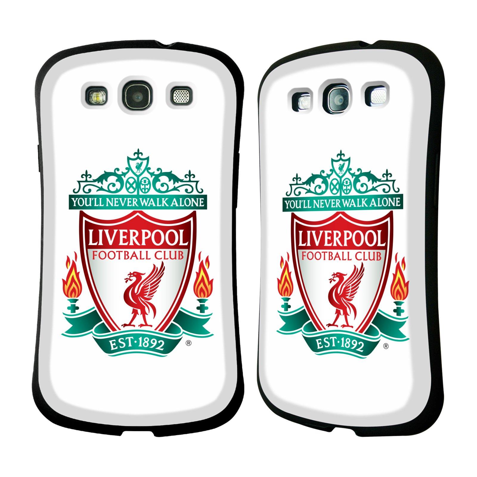 Nárazuvzdorné Plastové pouzdro na mobil Samsung Galaxy S3 Neo HEAD CASE ZNAK LIVERPOOL FC OFFICIAL WHITE (Odolný nárazuvzdorný silikonový kryt či obal na mobilní telefon Liverpool FC Official pro Samsung Galaxy S3 Neo GT-i9301i)