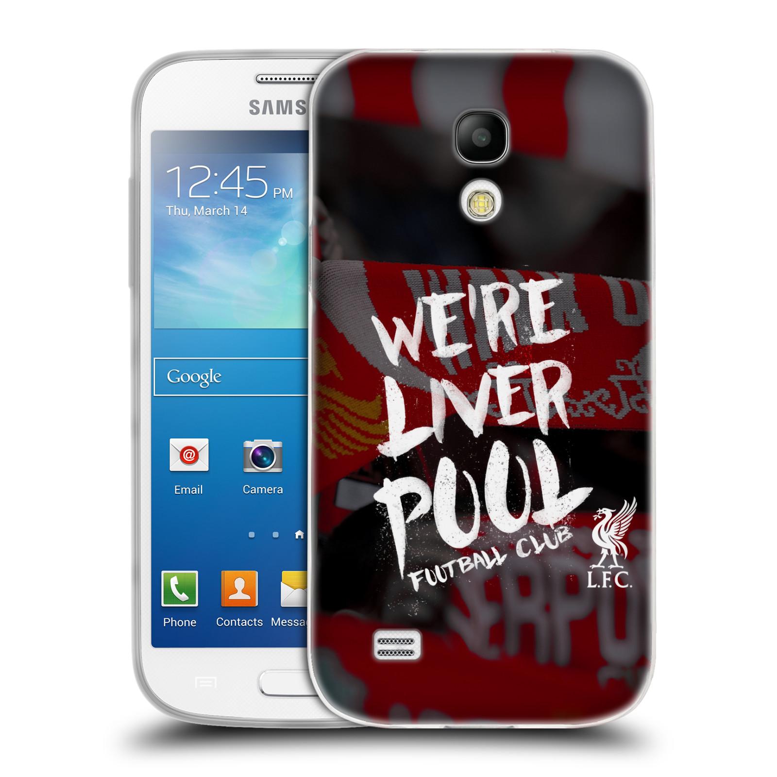 Silikonové pouzdro na mobil Samsung Galaxy S4 Mini VE HEAD CASE We're Liverpool (Silikonový kryt či obal na mobilní telefon Liverpool FC Official pro Samsung Galaxy S4 Mini VE GT-i9195i)