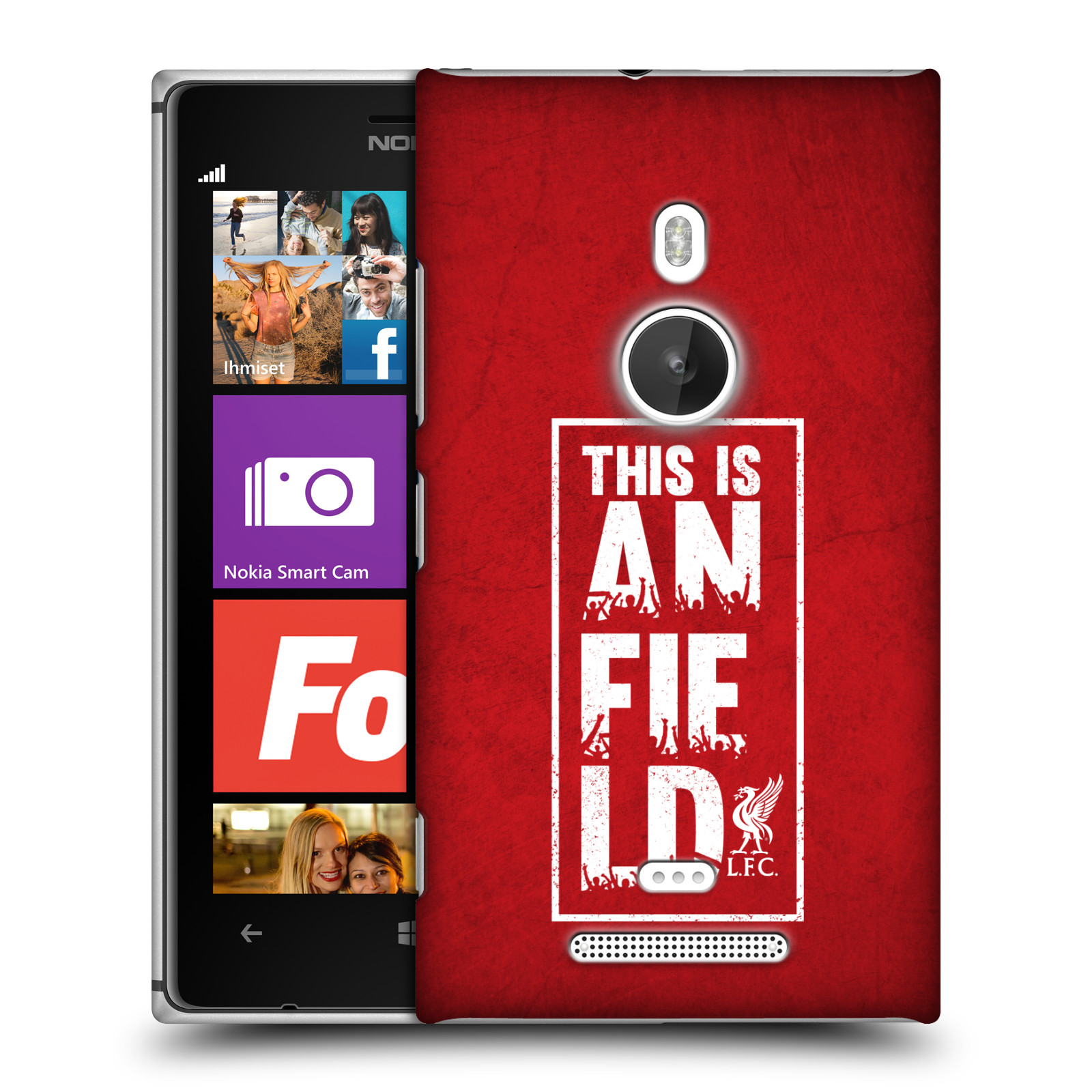Plastové pouzdro na mobil Nokia Lumia 925 HEAD CASE Liverpool FC This Is Anfield Red (Kryt či obal na mobilní telefon Liverpool FC Official pro Nokia Lumia 925)