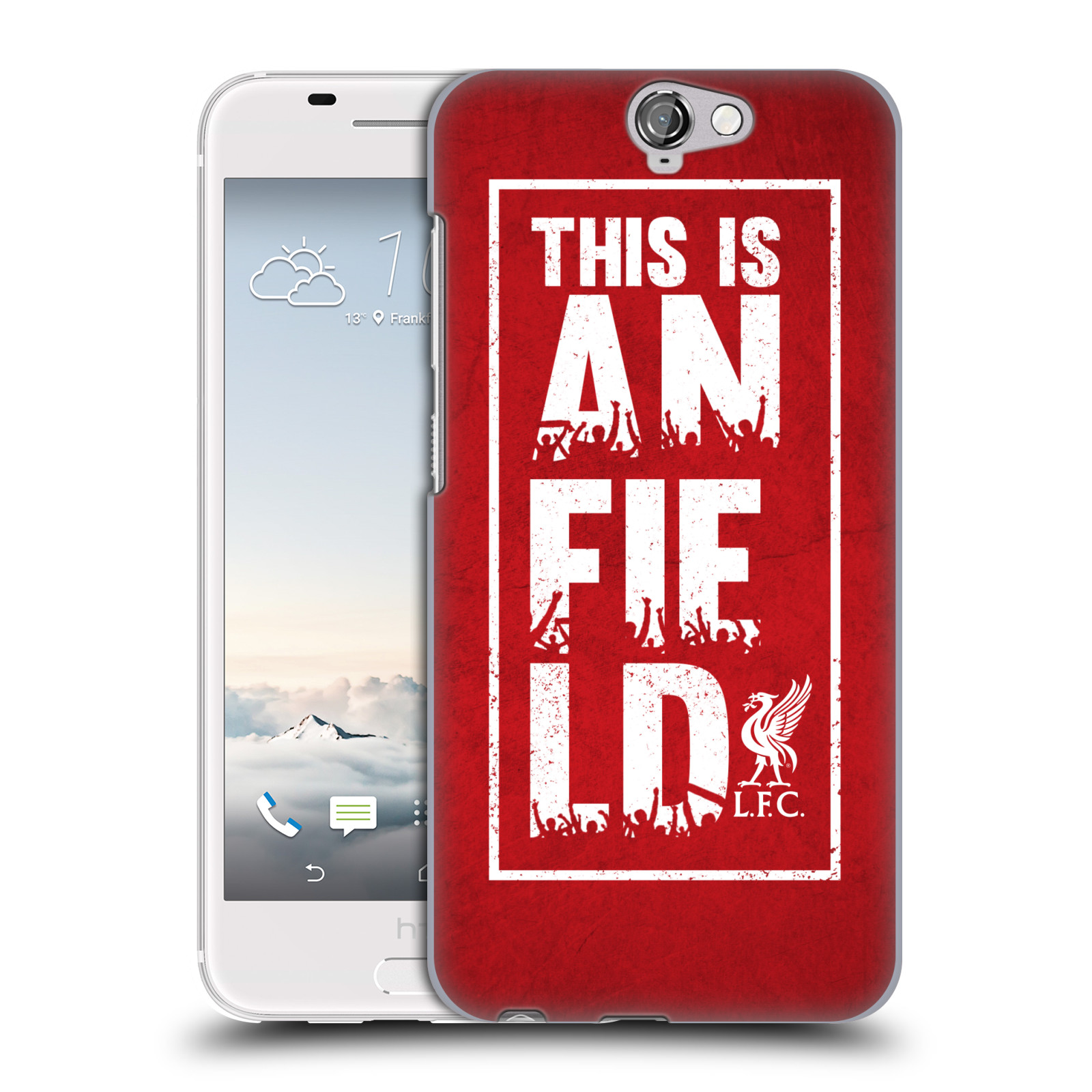 Plastové pouzdro na mobil HTC One A9 HEAD CASE Liverpool FC This Is Anfield Red (Kryt či obal na mobilní telefon Liverpool FC Official pro HTC One A9)