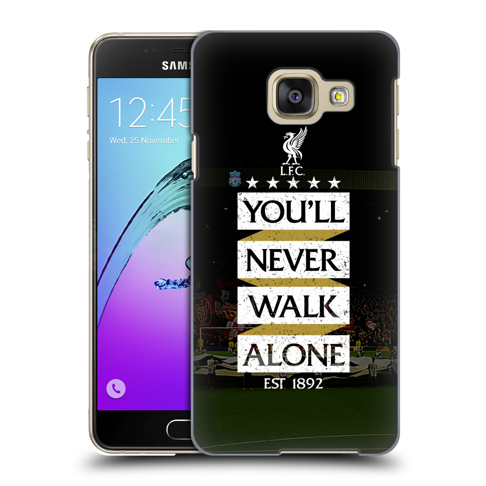 Plastové pouzdro na mobil Samsung Galaxy A3 (2016) HEAD CASE LFC You'll Never Walk Alone