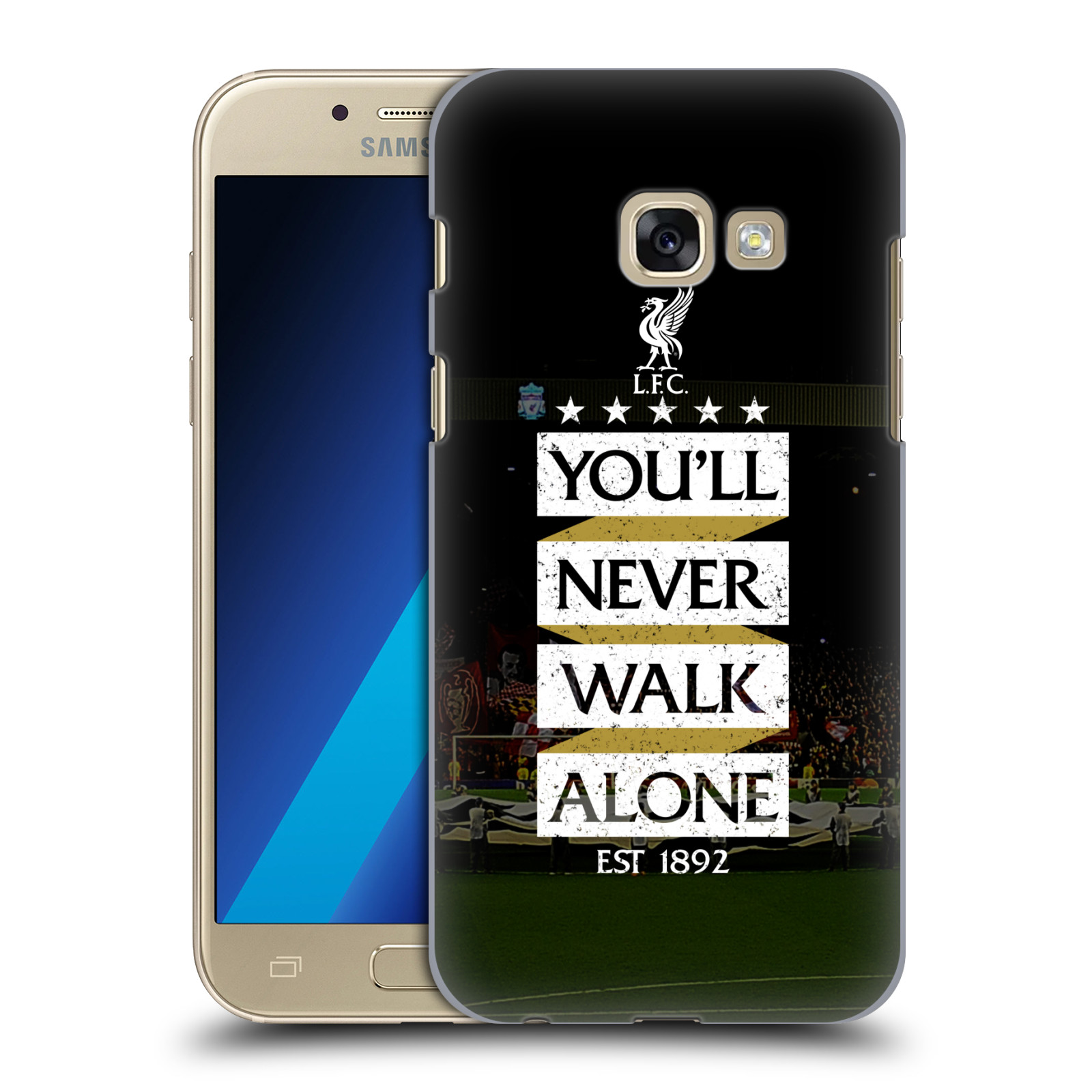 Plastové pouzdro na mobil Samsung Galaxy A3 (2017) HEAD CASE LFC You'll Never Walk Alone