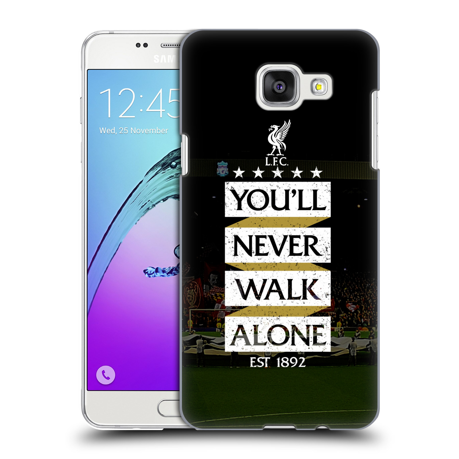 Plastové pouzdro na mobil Samsung Galaxy A5 (2016) HEAD CASE LFC You'll Never Walk Alone
