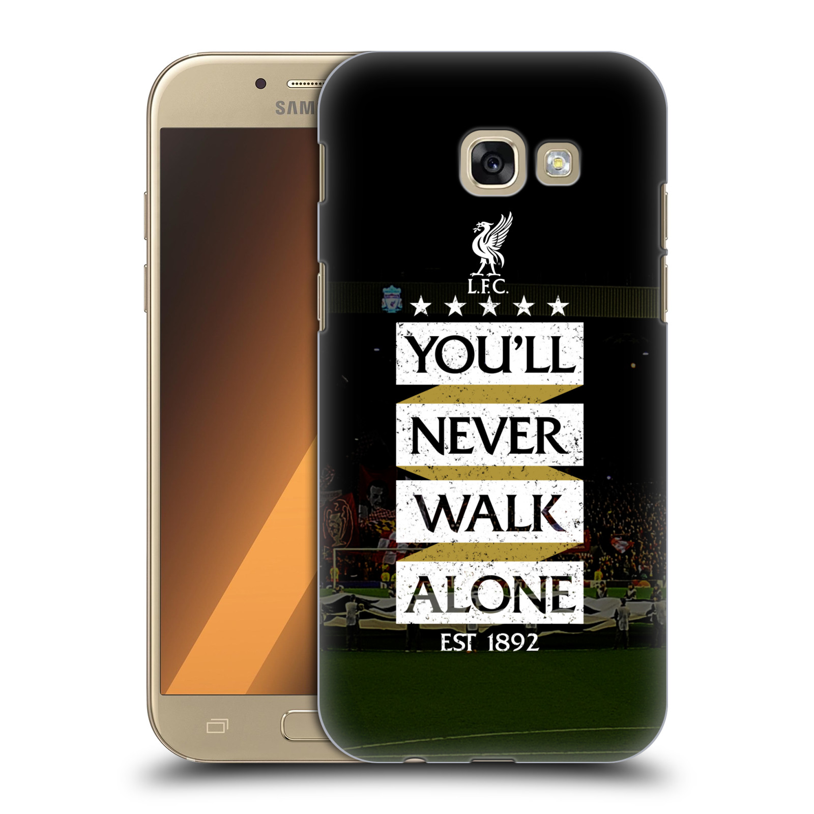 Plastové pouzdro na mobil Samsung Galaxy A5 (2017) HEAD CASE LFC You'll Never Walk Alone