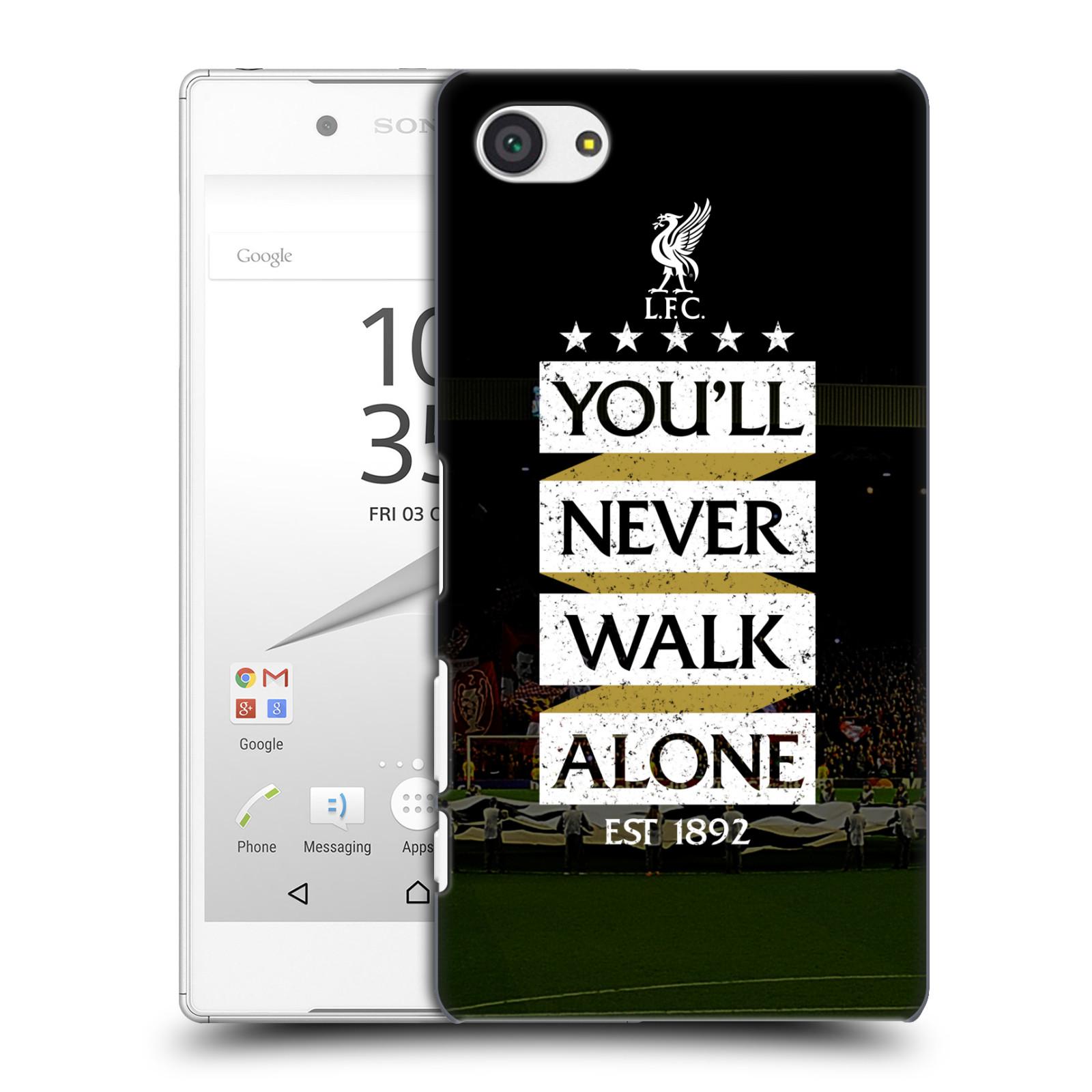 Plastové pouzdro na mobil Sony Xperia Z5 Compact HEAD CASE LFC You'll Never Walk Alone