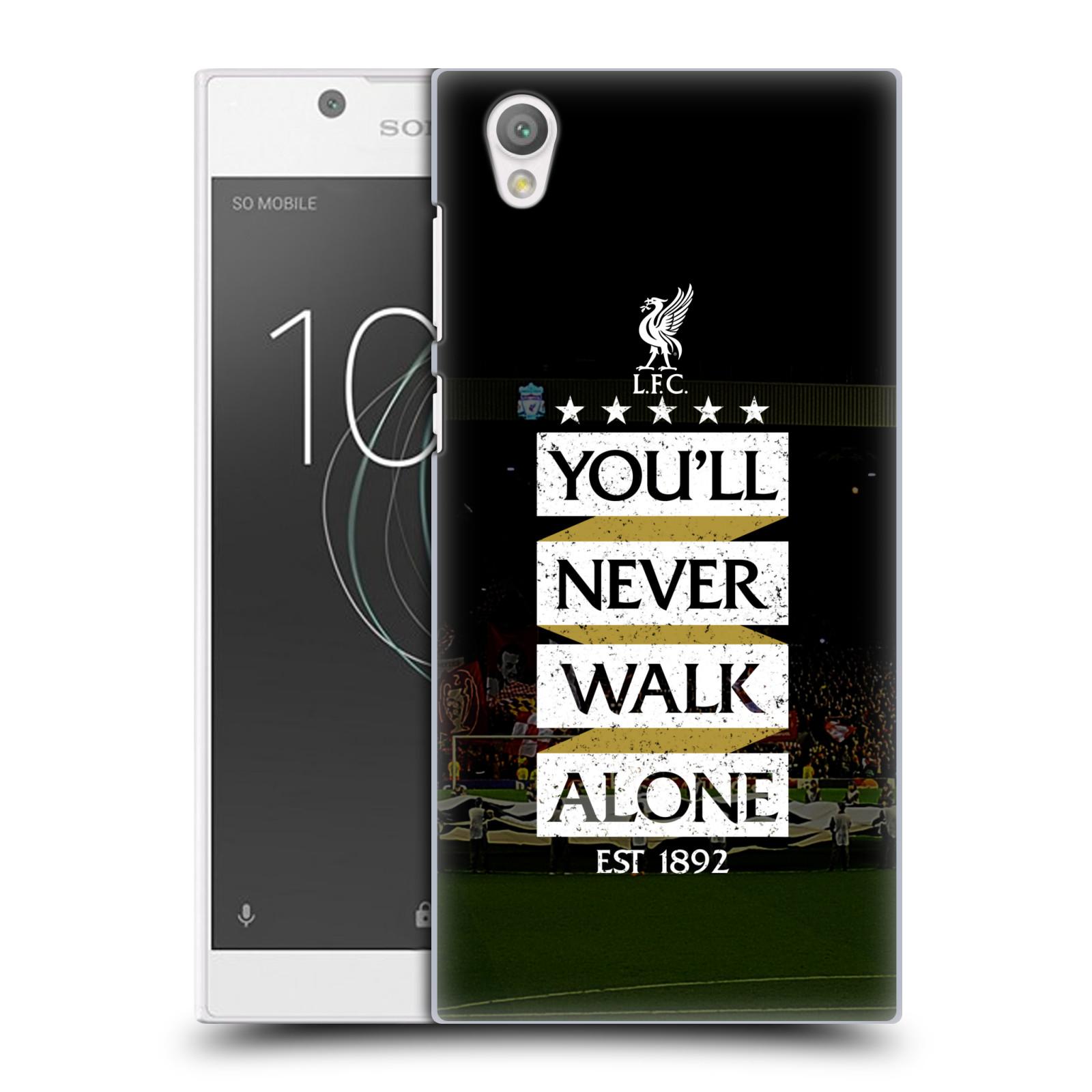 Plastové pouzdro na mobil Sony Xperia L1 - Head Case - LFC You'll Never Walk Alone