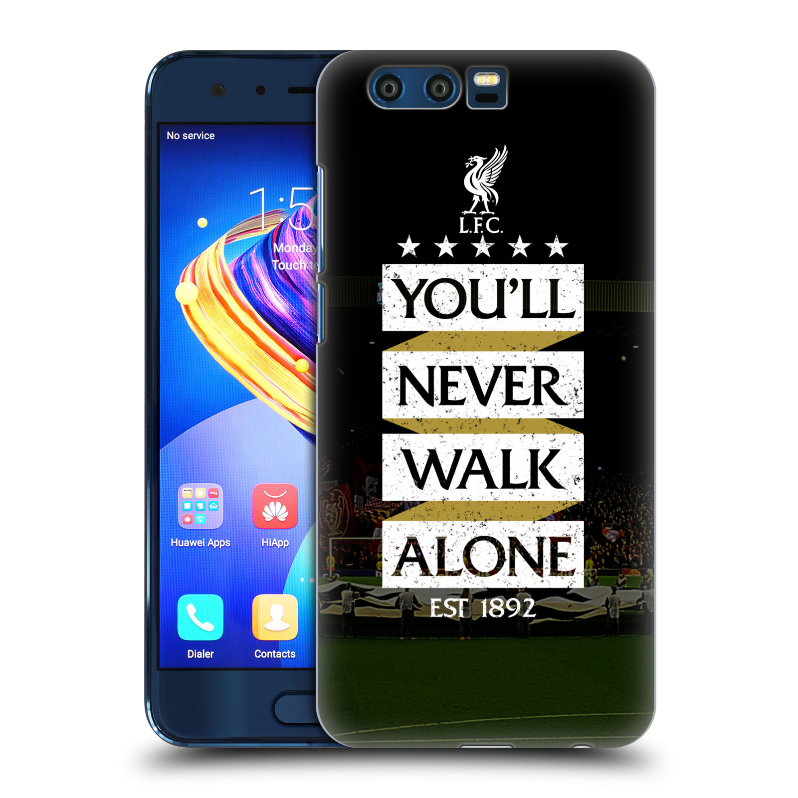 Plastové pouzdro na mobil Honor 9 - Head Case - LFC You'll Never Walk Alone
