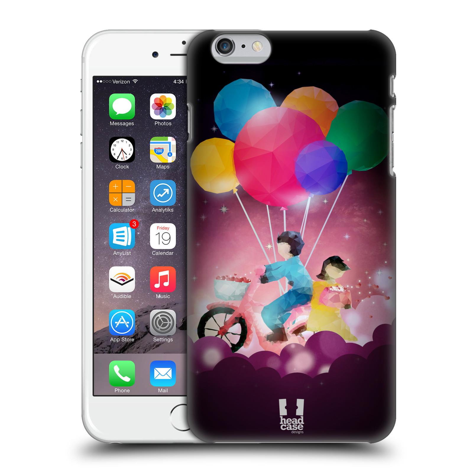 Plastové pouzdro na mobil Apple iPhone 6 Plus a 6S Plus HEAD CASE LOVE AFFLOAT COUPLE
