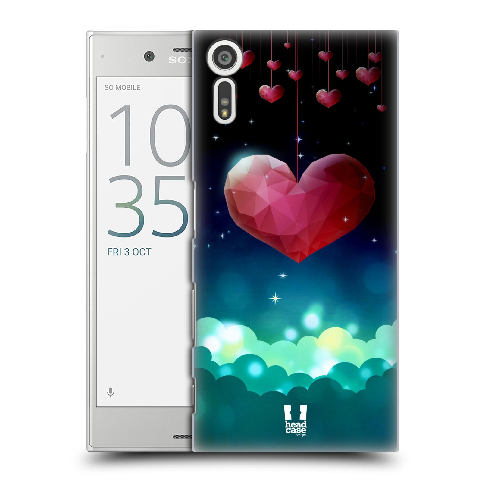 Plastové pouzdro na mobil Sony Xperia XZ - Head Case LOVE AFFLOAT SRDCE