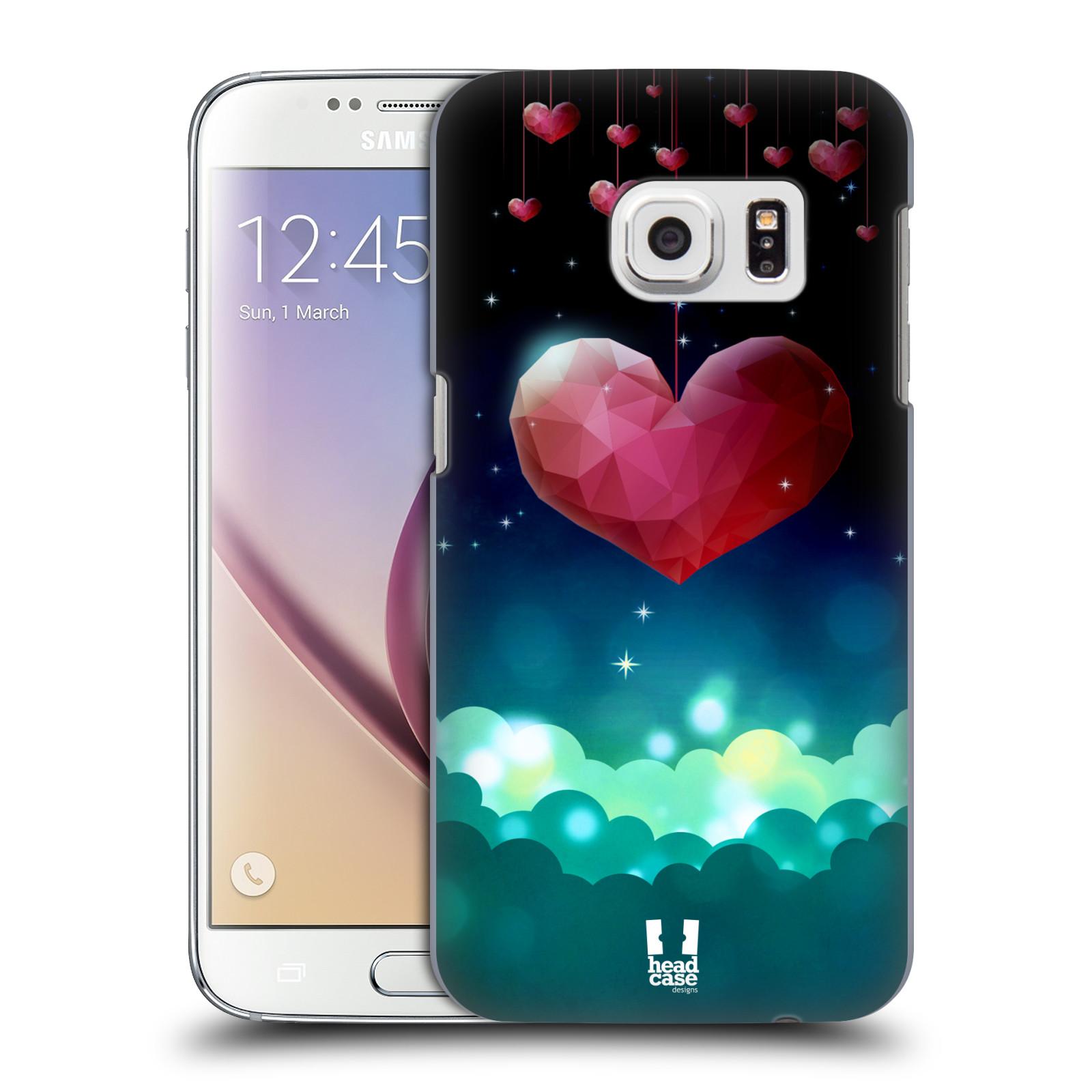 Plastové pouzdro na mobil Samsung Galaxy S7 HEAD CASE LOVE AFFLOAT SRDCE (Kryt či obal na mobilní telefon Samsung Galaxy S7 SM-G930F)
