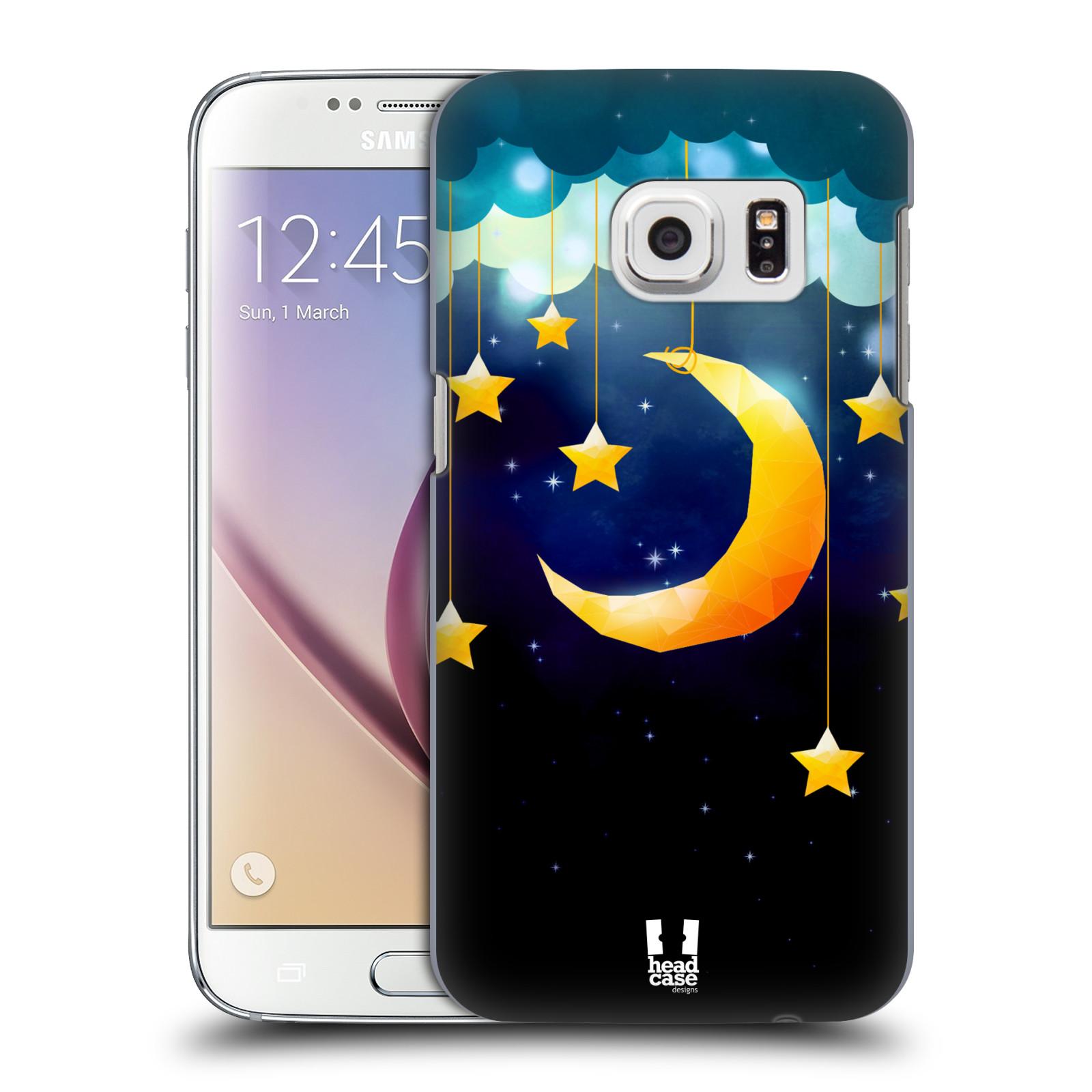 Plastové pouzdro na mobil Samsung Galaxy S7 HEAD CASE LOVE AFFLOAT MĚSÍC (Kryt či obal na mobilní telefon Samsung Galaxy S7 SM-G930F)