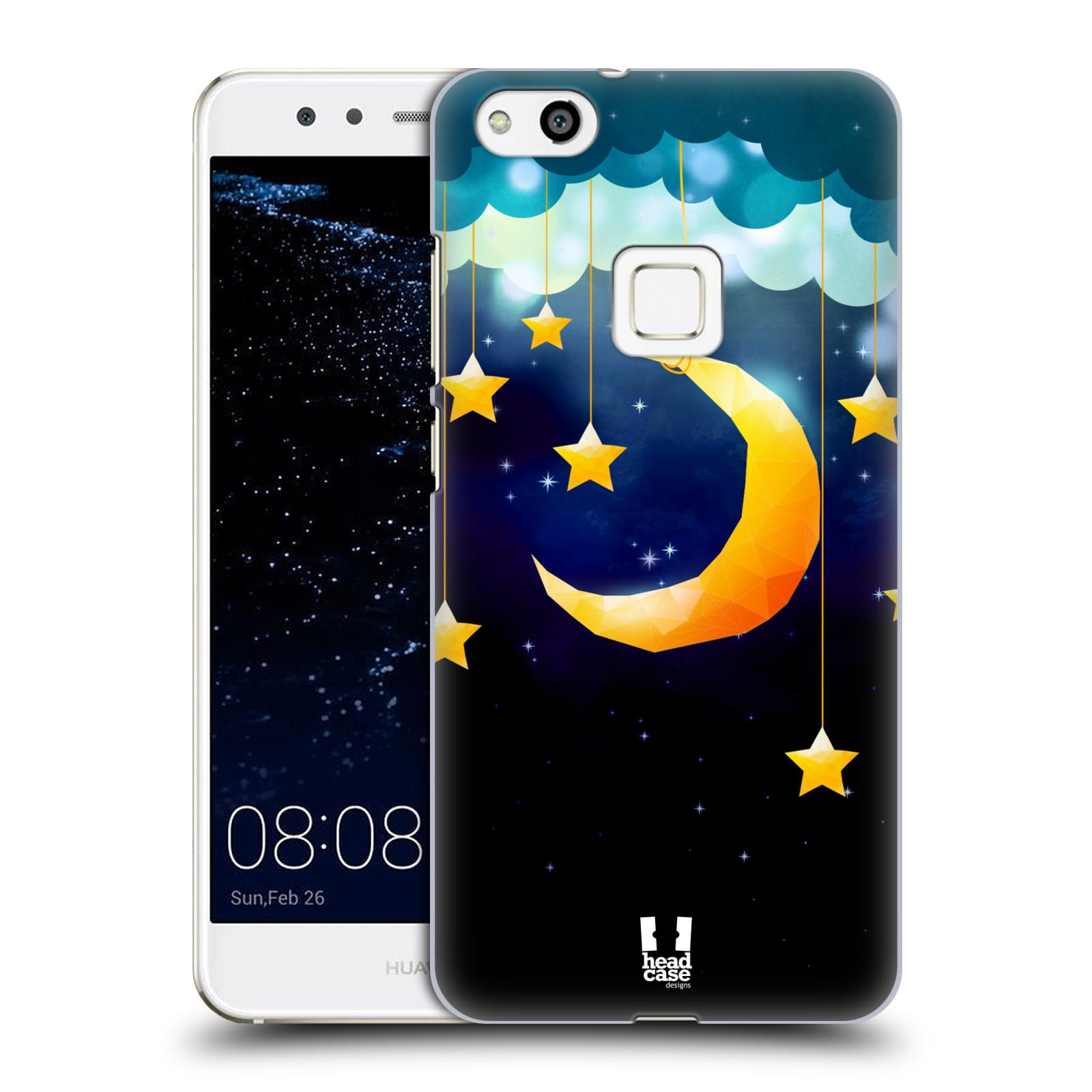 Plastové pouzdro na mobil Huawei P10 Lite Head Case - LOVE AFFLOAT MĚSÍC (Plastový kryt či obal na mobilní telefon Huawei P10 Lite Dual SIM (LX1/LX1A))