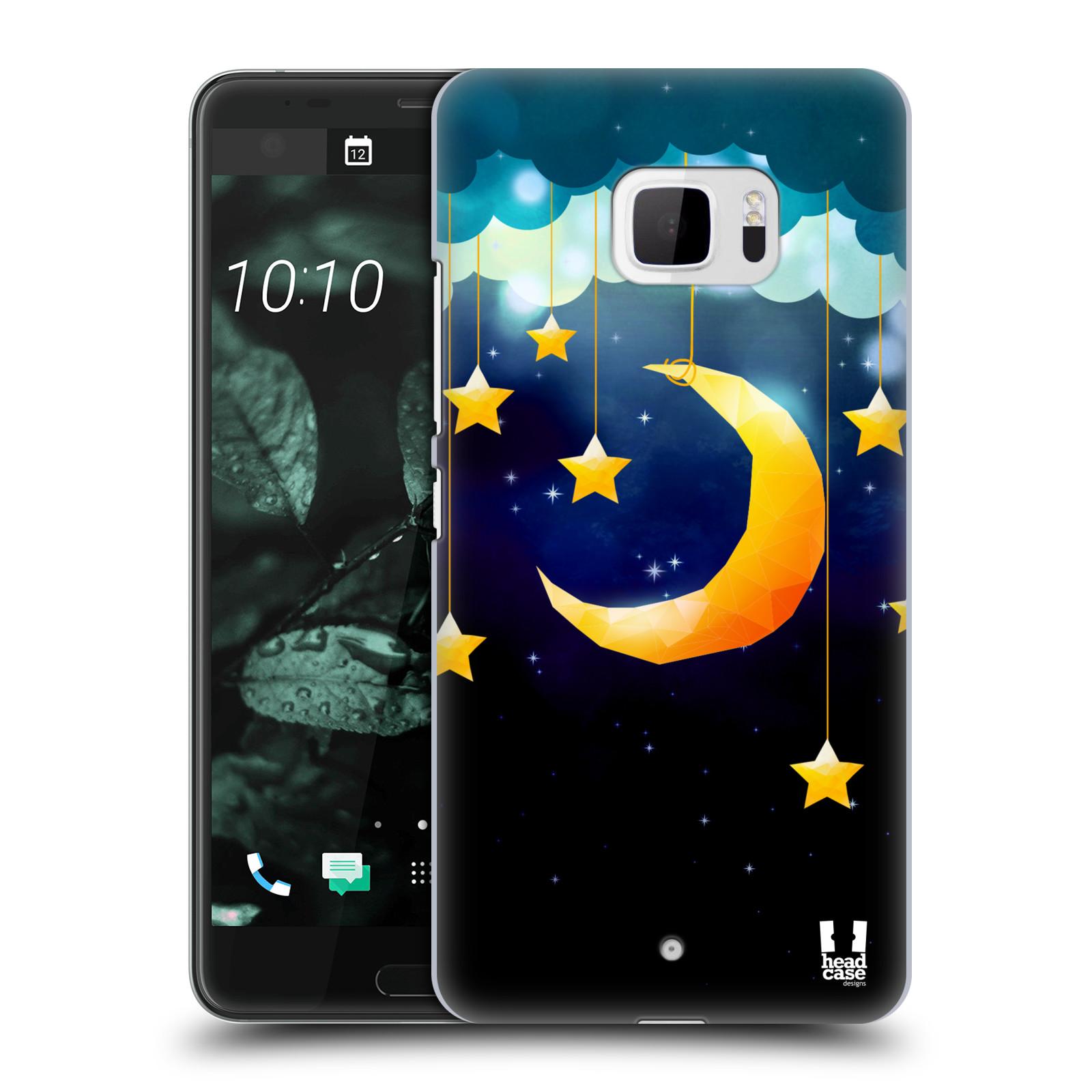 Plastové pouzdro na mobil HTC U Ultra Head Case - LOVE AFFLOAT MĚSÍC (Plastový kryt či obal na mobilní telefon HTC U Ultra (99HALT015-00))