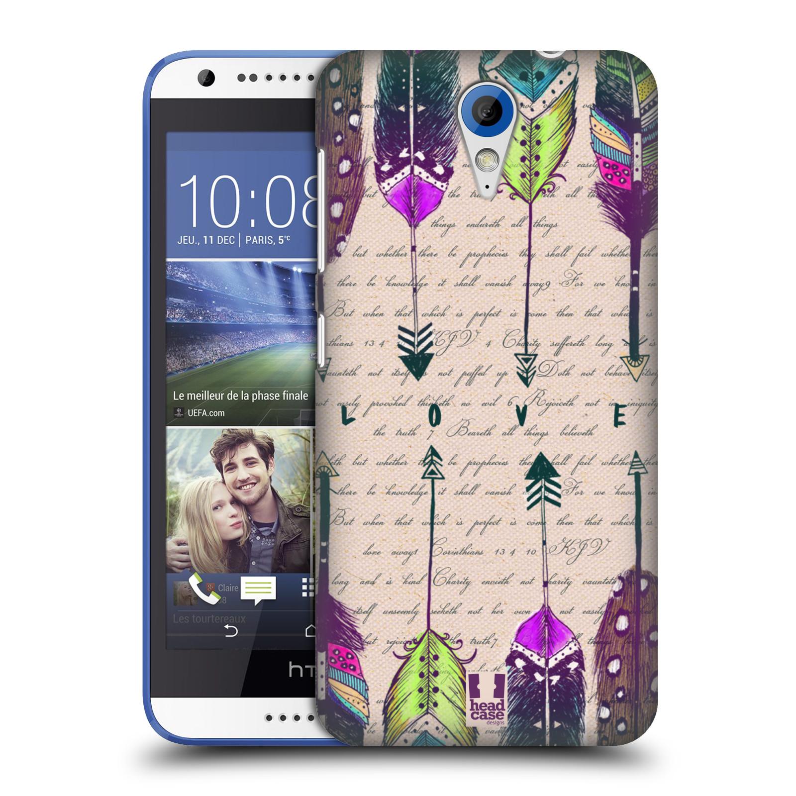 Plastové pouzdro na mobil HTC Desire 620 HEAD CASE PÍRKA LOVE (Kryt či obal na mobilní telefon HTC Desire 620)