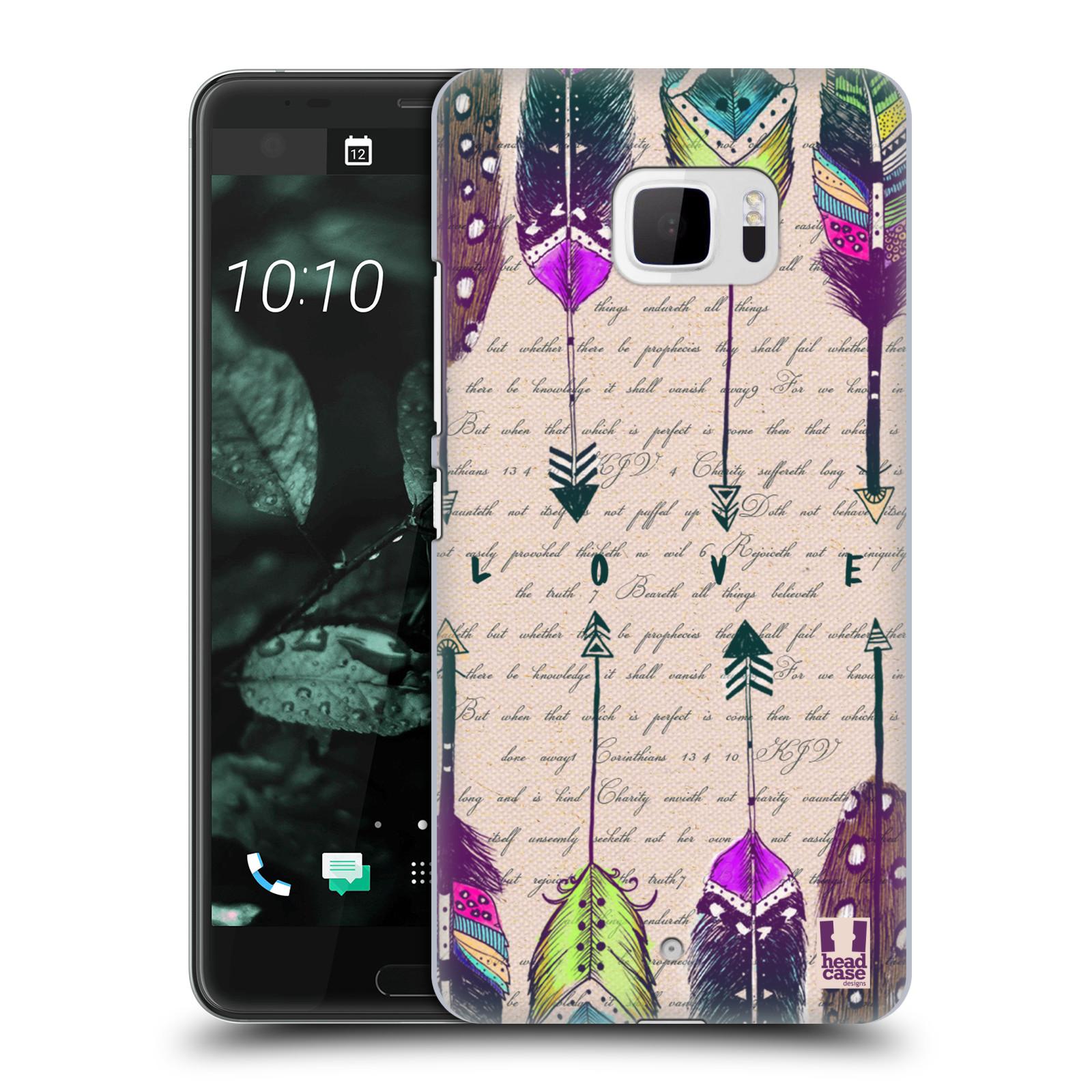Plastové pouzdro na mobil HTC U Ultra Head Case - PÍRKA LOVE (Plastový kryt či obal na mobilní telefon HTC U Ultra (99HALT015-00))