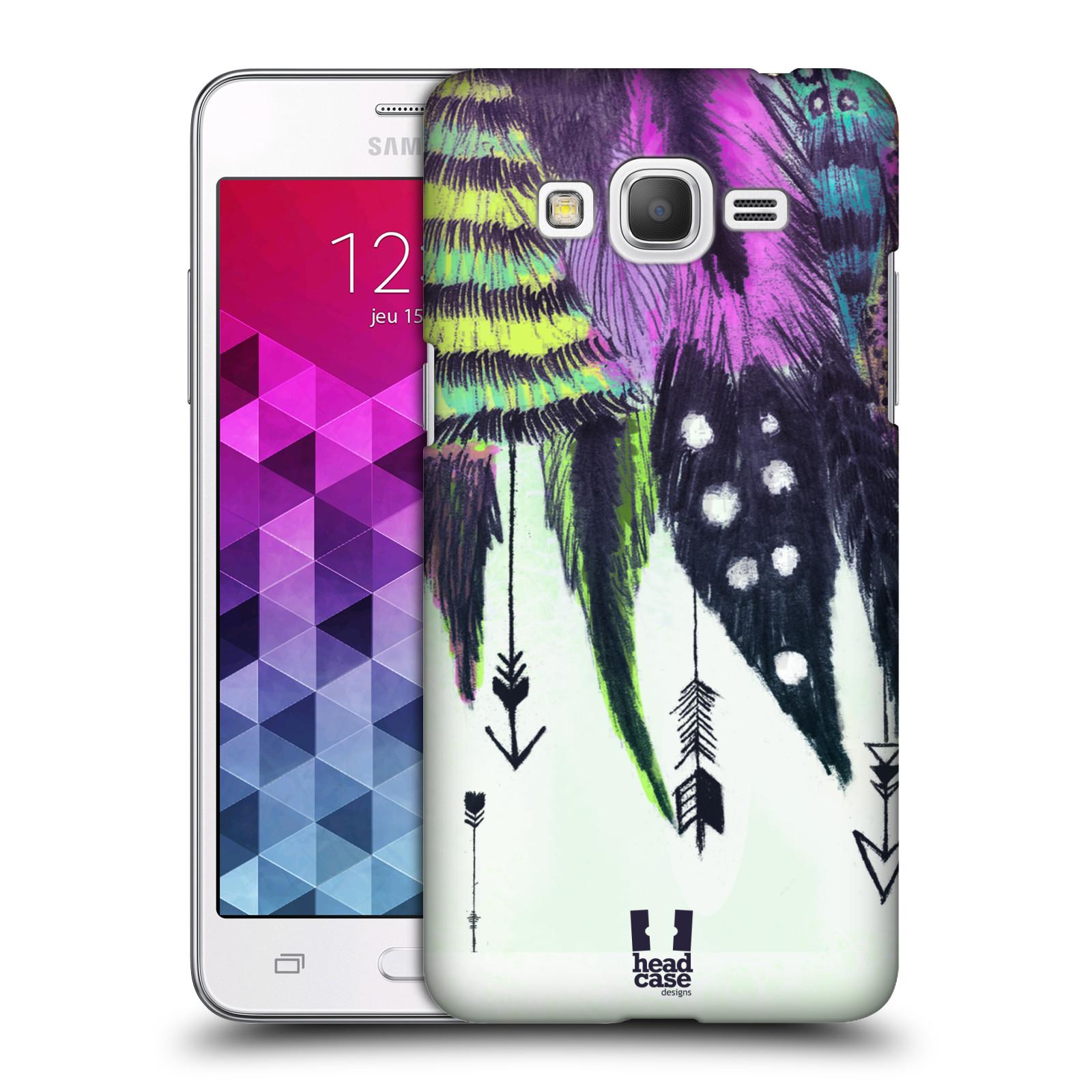 Plastové pouzdro na mobil Samsung Galaxy Grand Prime VE HEAD CASE PÍRKA ROMANTIC