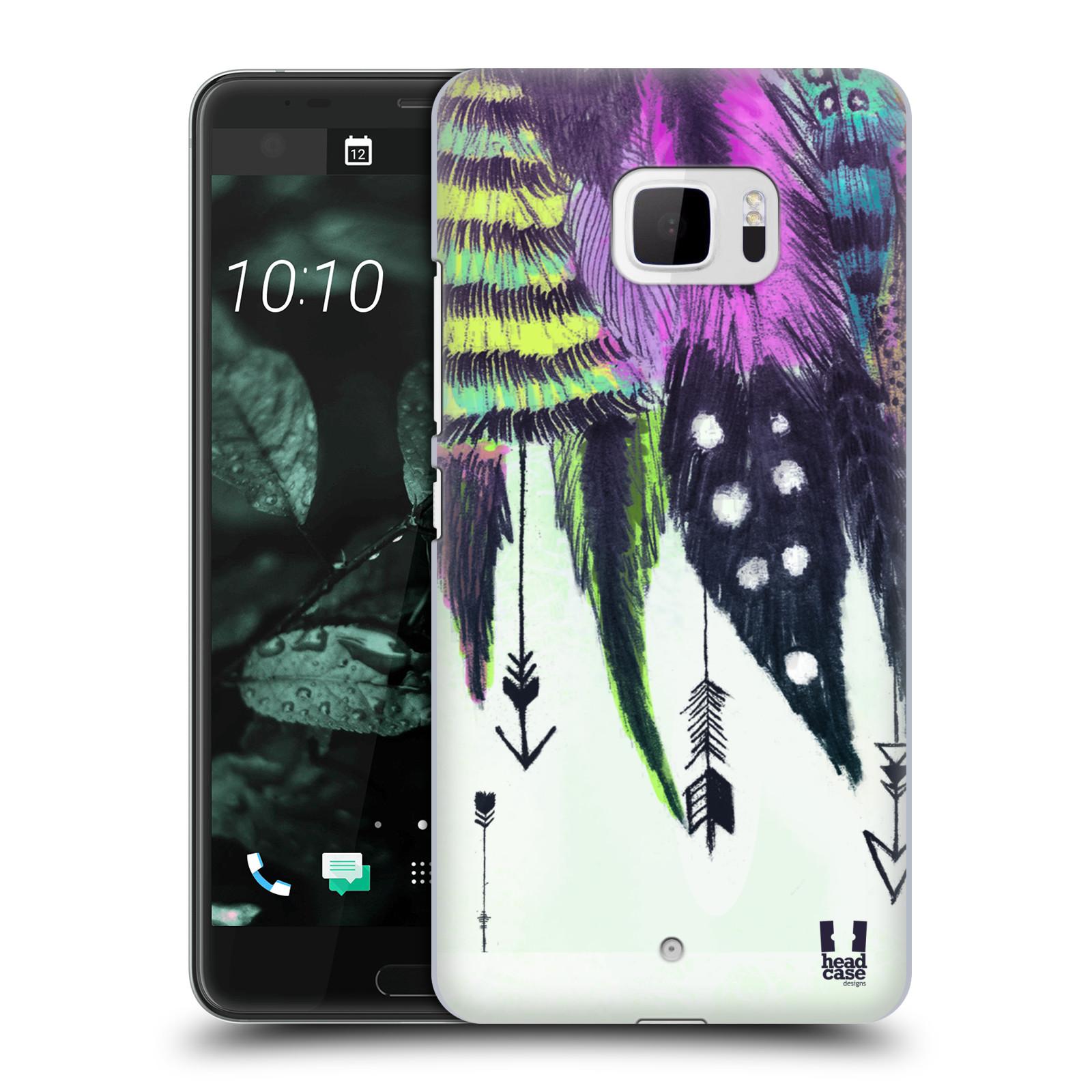 Plastové pouzdro na mobil HTC U Ultra Head Case - PÍRKA ROMANTIC (Plastový kryt či obal na mobilní telefon HTC U Ultra (99HALT015-00))