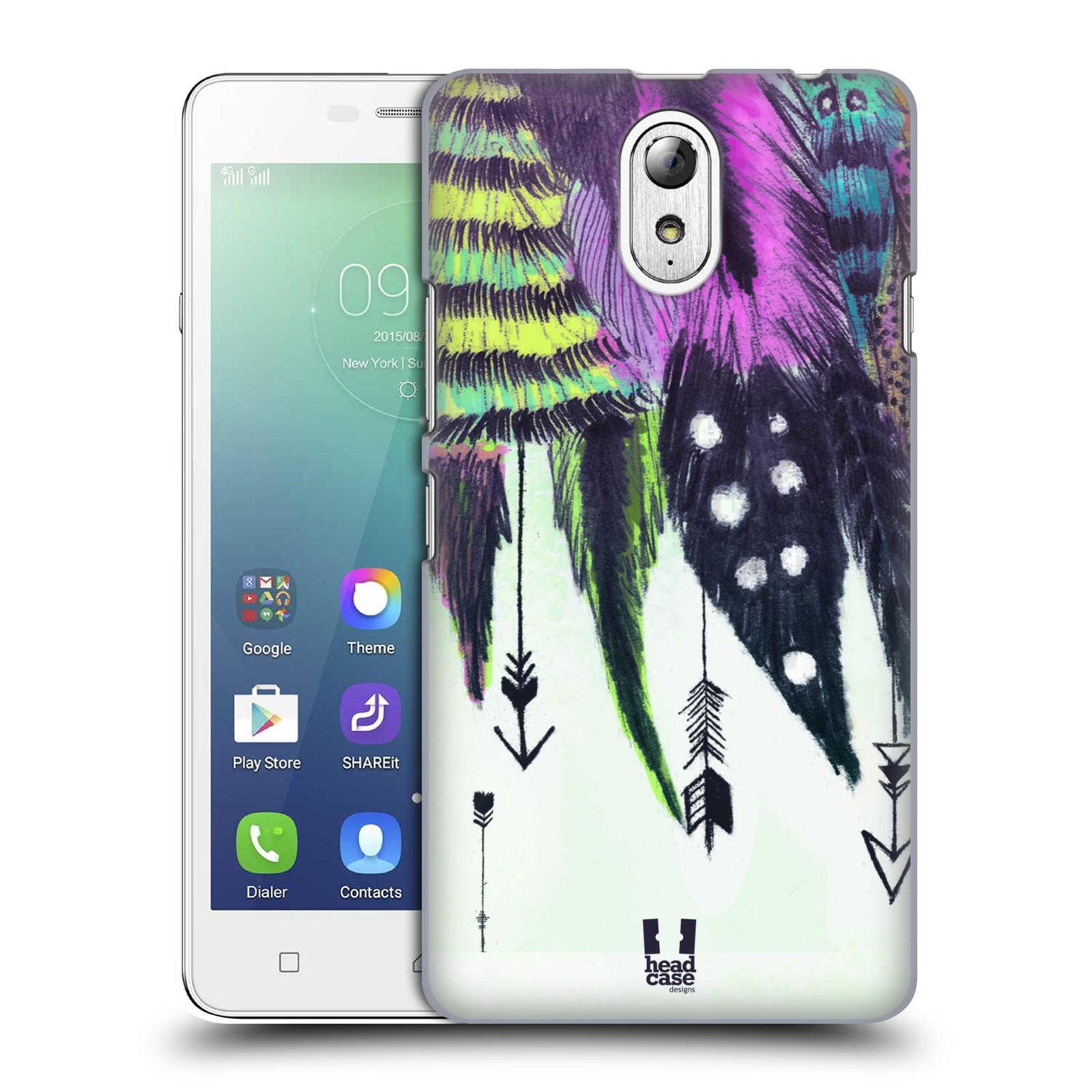 Plastové pouzdro na mobil Lenovo Vibe P1m HEAD CASE PRKA ROMANTIC