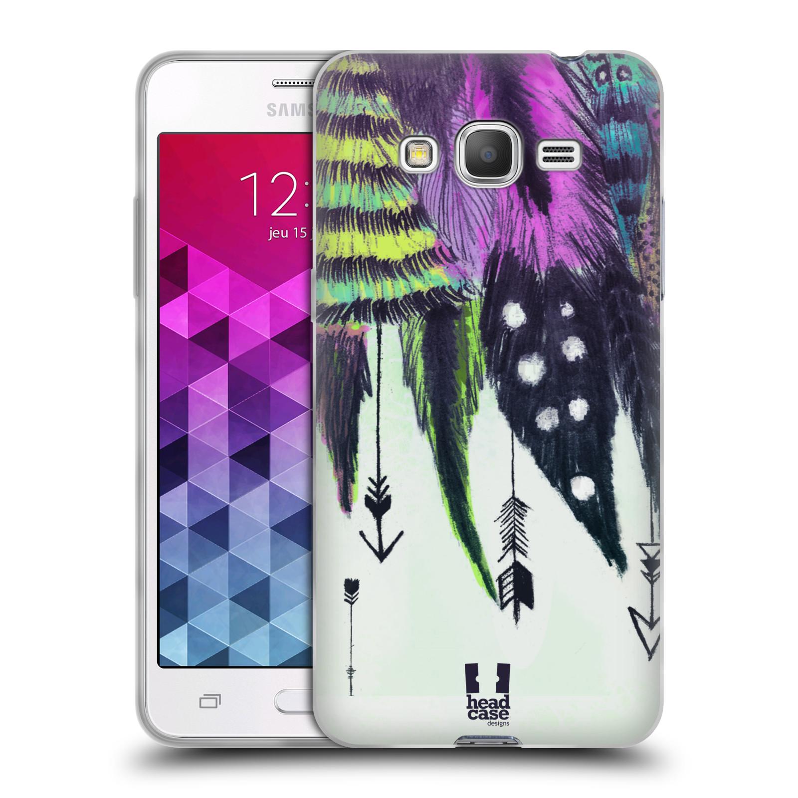 Silikonové pouzdro na mobil Samsung Galaxy Grand Prime HEAD CASE PÍRKA ROMANTIC