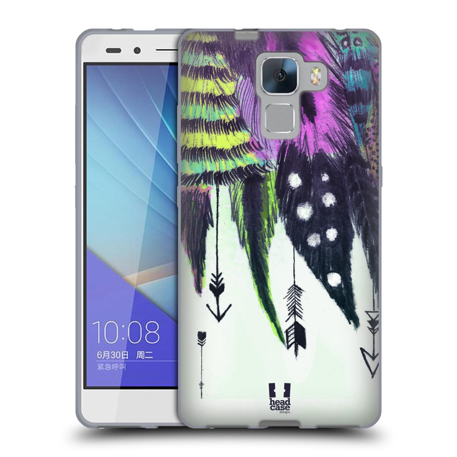 Silikonové pouzdro na mobil Honor 7 HEAD CASE PÍRKA ROMANTIC