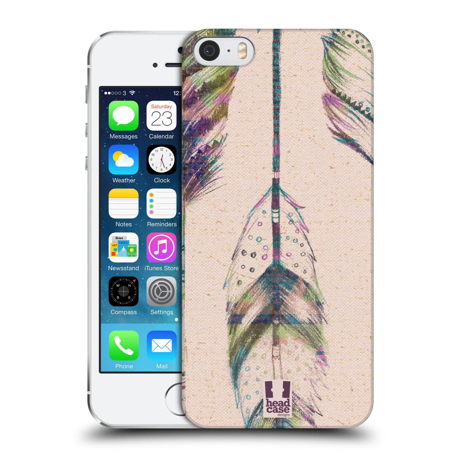 Plastové pouzdro na mobil Apple iPhone SE, 5 a 5S HEAD CASE PÍRKA VINTAGE