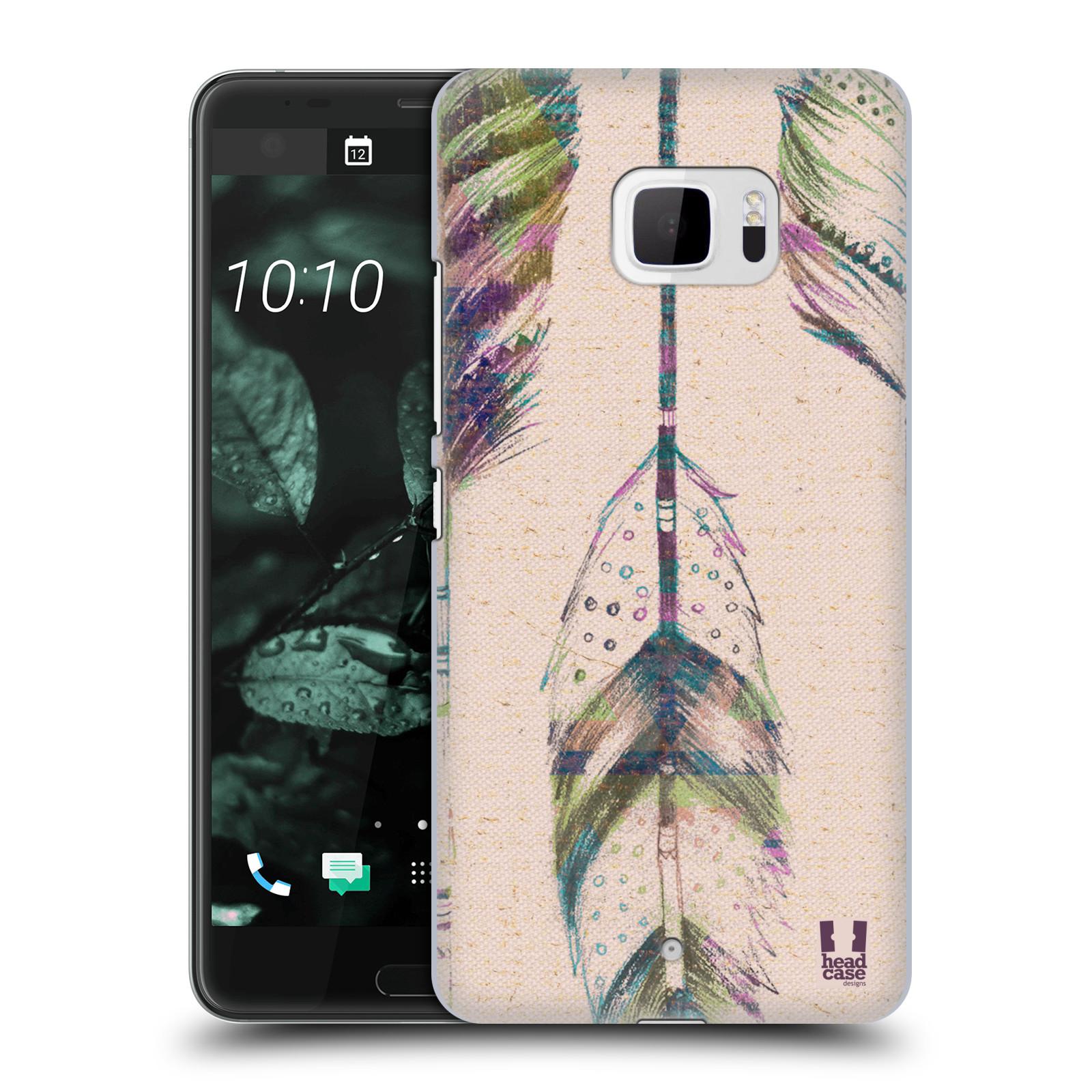 Plastové pouzdro na mobil HTC U Ultra Head Case - PÍRKA VINTAGE (Plastový kryt či obal na mobilní telefon HTC U Ultra (99HALT015-00))