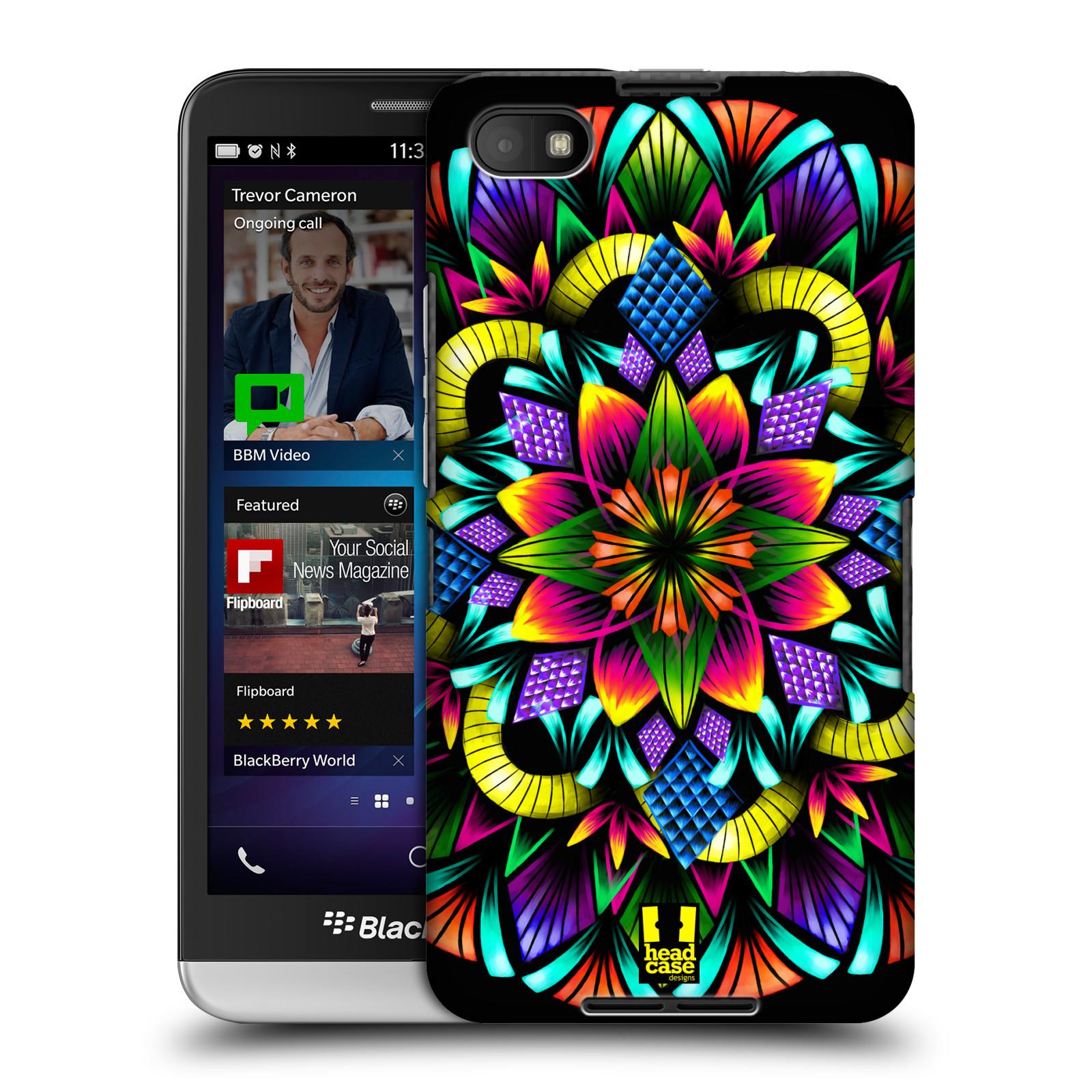 Plastové pouzdro na mobil Blackberry Z30 HEAD CASE Květina mandala (Kryt či obal na mobilní telefon Blackberry Z30)