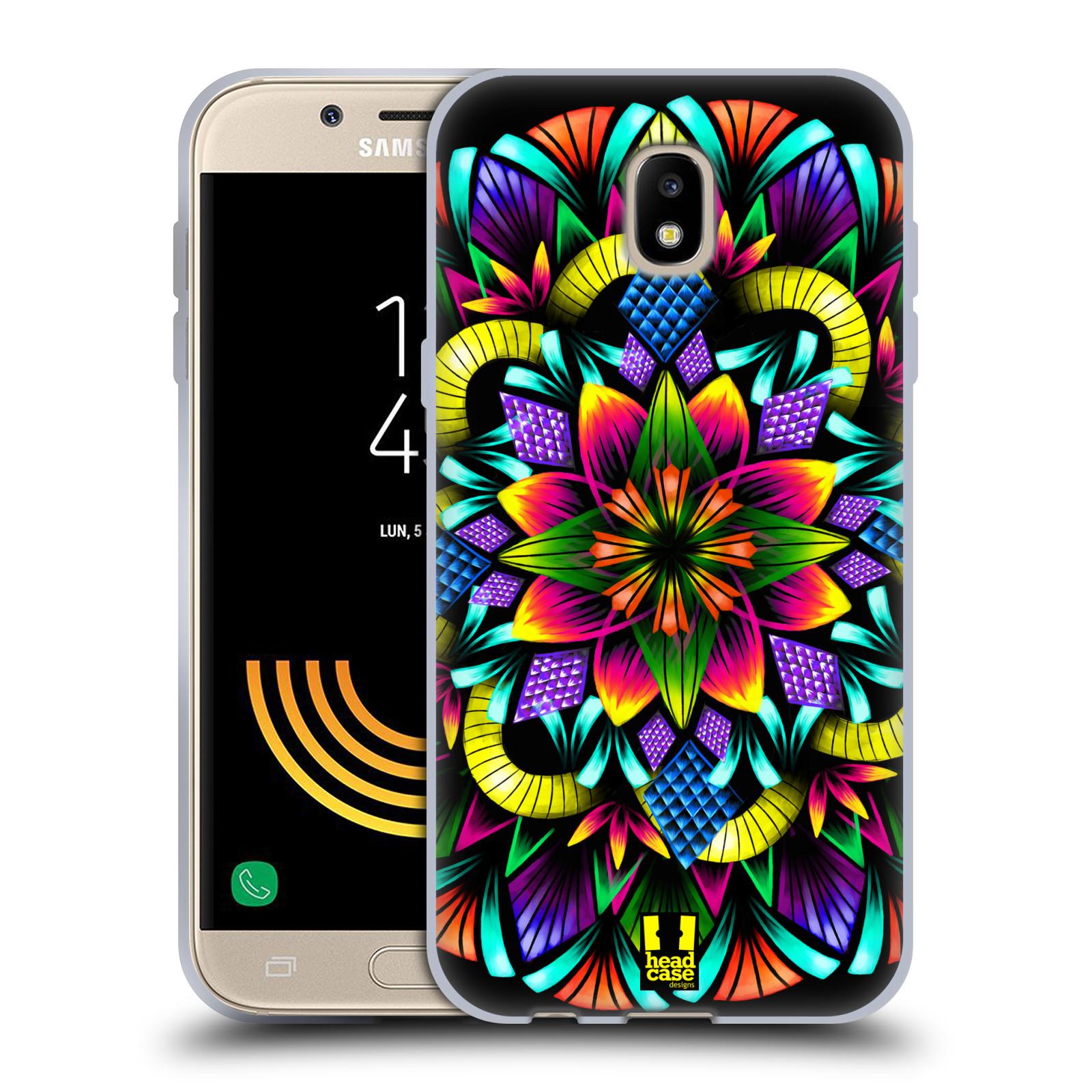 Silikonové pouzdro na mobil Samsung Galaxy J5 (2017) - Head Case - Květina mandala