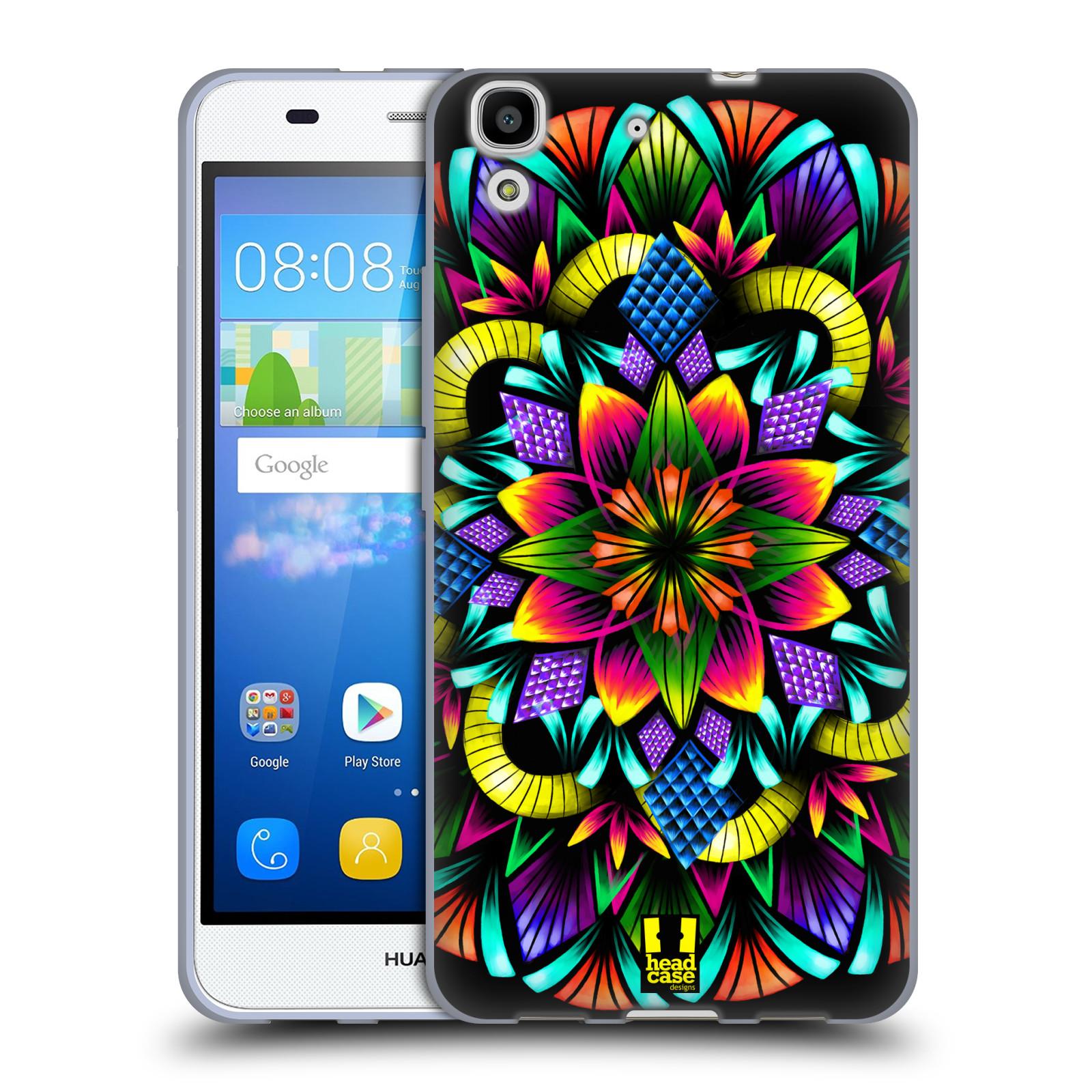 b8f22da25 Silikonové pouzdro na mobil Huawei Y6 HEAD CASE Květina mandala ...
