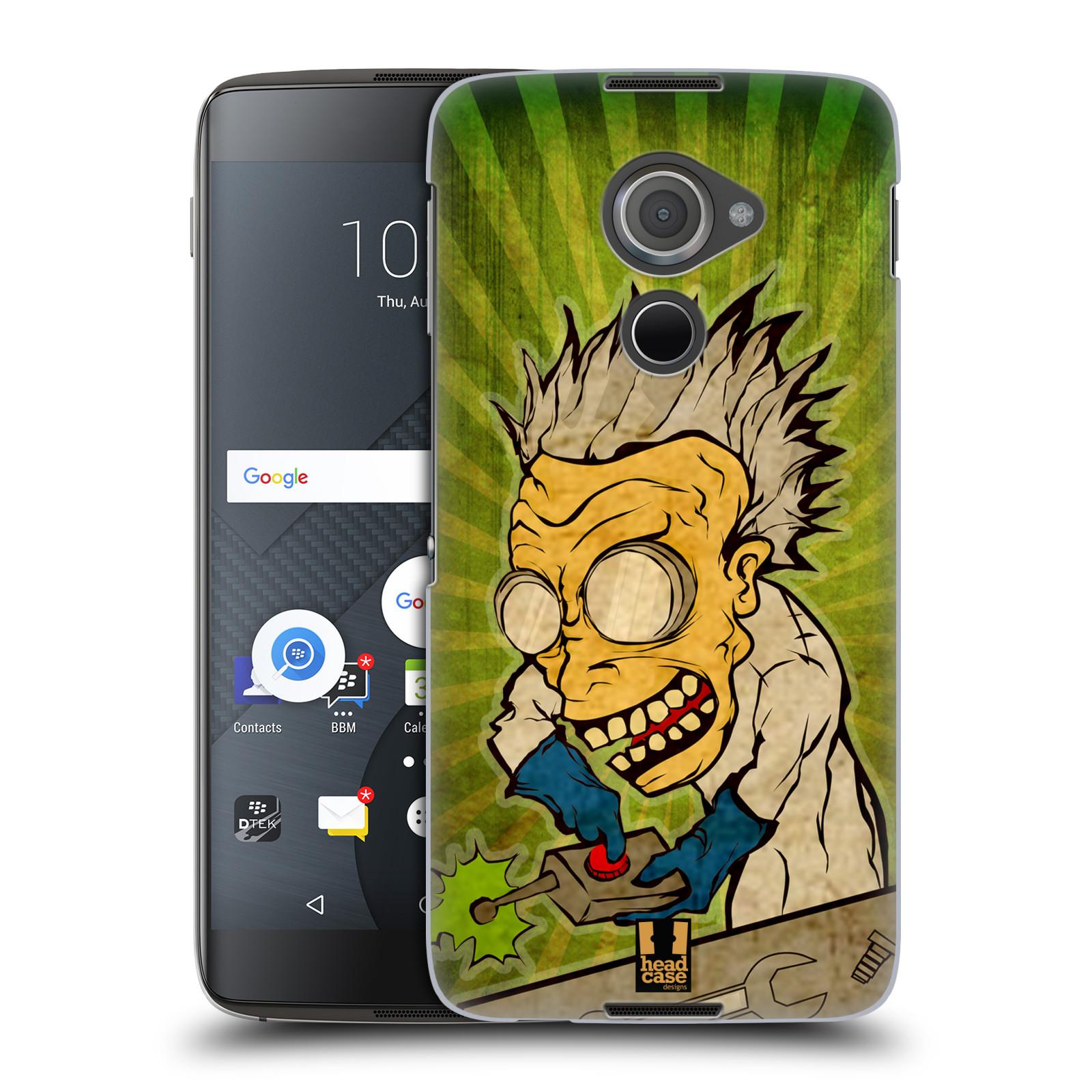 Plastové pouzdro na mobil Blackberry DTEK60 (Argon) - Head Case INFUSE (Plastový kryt či obal na mobilní telefon Blackberry DTEK60 (Argon))