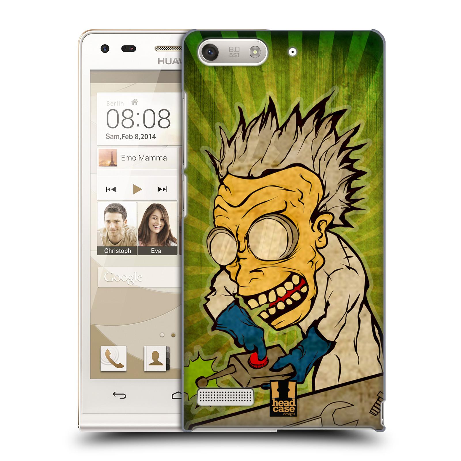 Plastové pouzdro na mobil Huawei Ascend G6 HEAD CASE INFUSE (Kryt či obal na mobilní telefon Huawei Ascend G6 bez LTE)