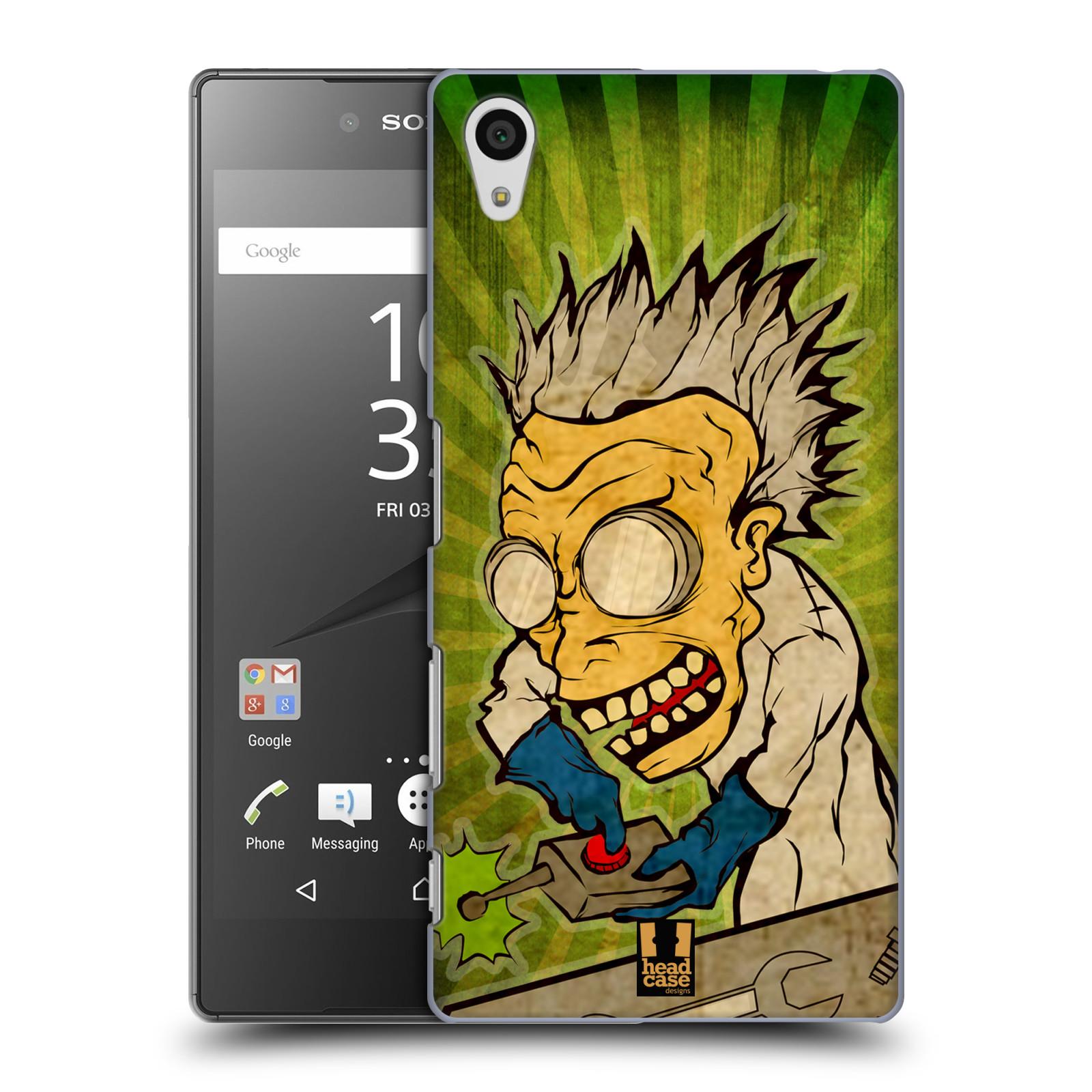 Plastové pouzdro na mobil Sony Xperia Z5 HEAD CASE INFUSE (Kryt či obal na mobilní telefon Sony Xperia Z5 E6653)