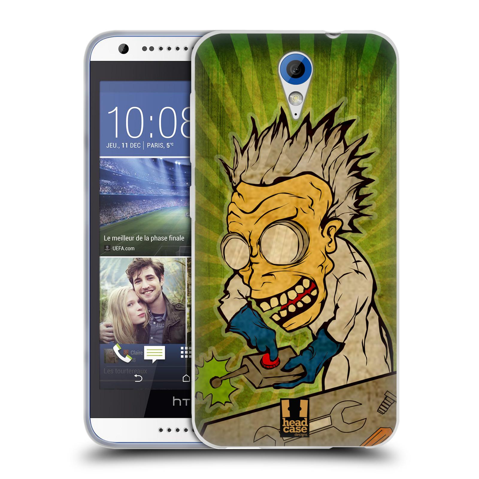 Silikonové pouzdro na mobil HTC Desire 620 HEAD CASE INFUSE (Silikonový kryt či obal na mobilní telefon HTC Desire 620)