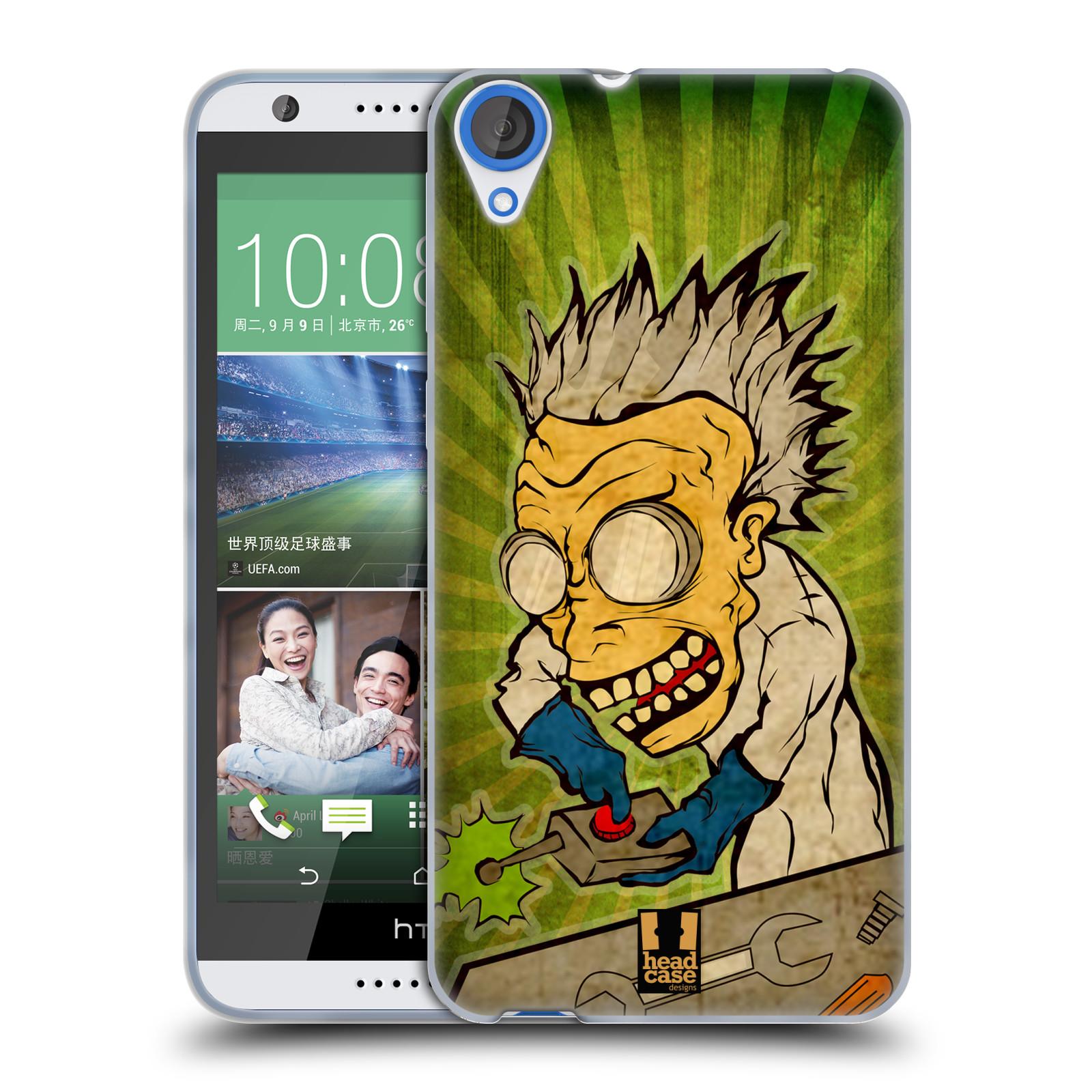 Silikonové pouzdro na mobil HTC Desire 820 HEAD CASE INFUSE (Silikonový kryt či obal na mobilní telefon HTC Desire 820)