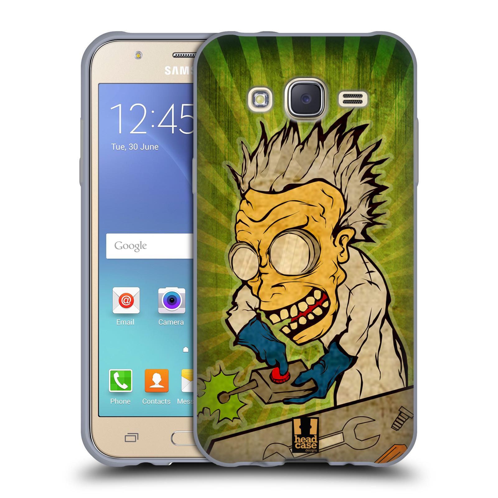 Silikonové pouzdro na mobil Samsung Galaxy J5 HEAD CASE INFUSE