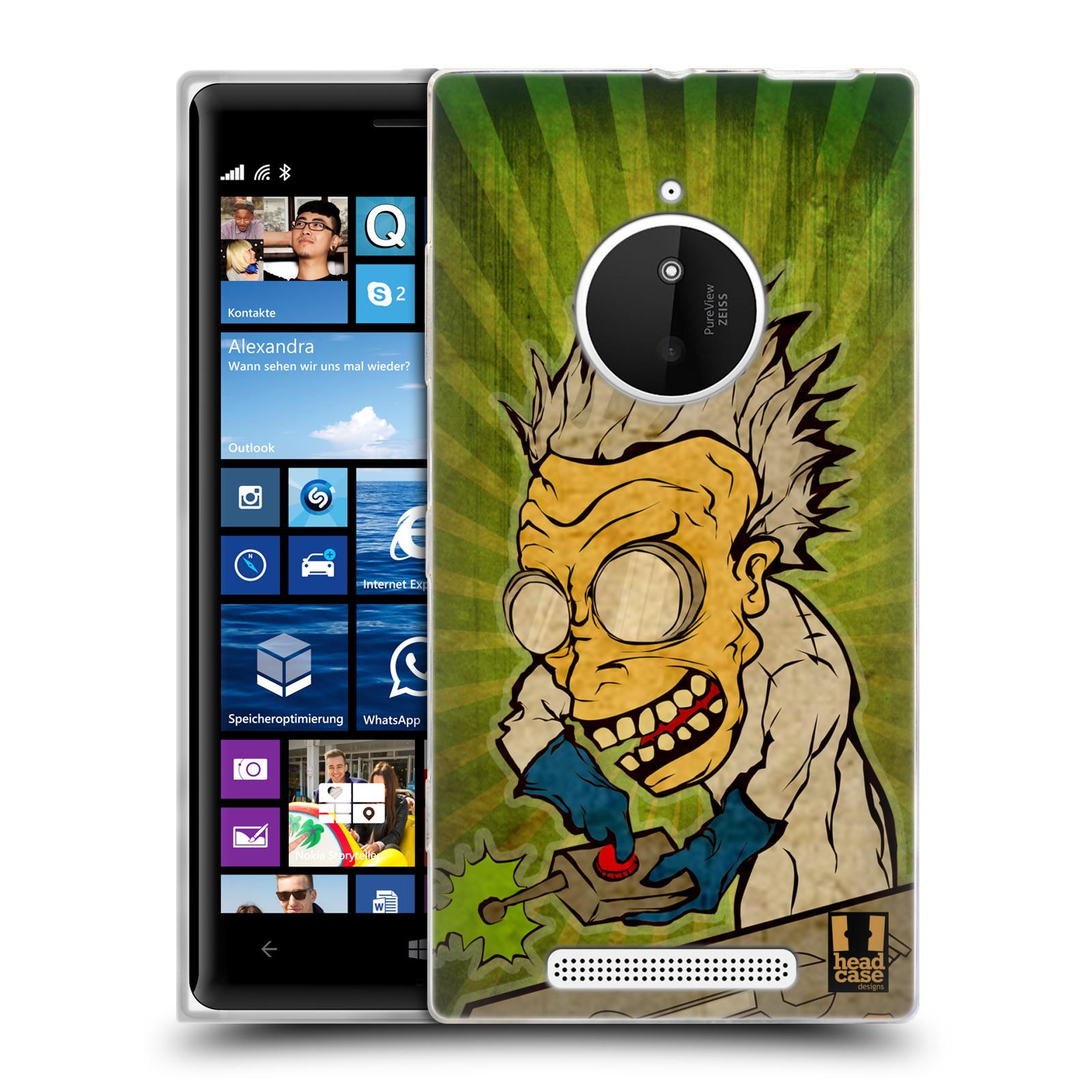 Silikonové pouzdro na mobil Nokia Lumia 830 HEAD CASE INFUSE (Silikonový kryt či obal na mobilní telefon Nokia Lumia 830)