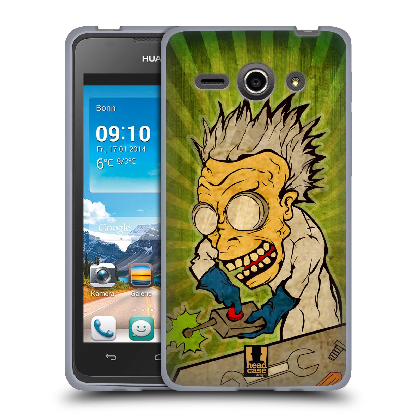 Silikonové pouzdro na mobil Huawei Ascend Y530 HEAD CASE INFUSE (Silikonový kryt či obal na mobilní telefon Huawei Ascend Y530)