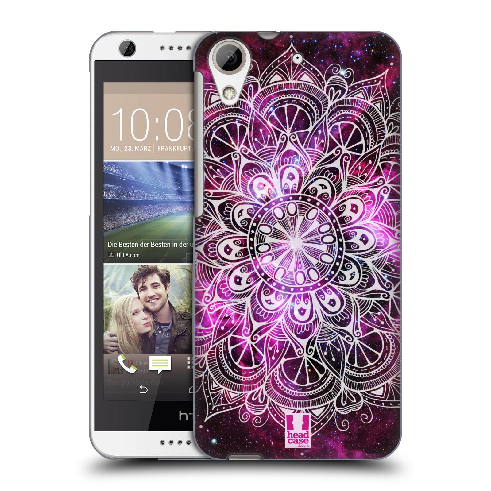 Plastové pouzdro na mobil HTC Desire 626 / 626G HEAD CASE Mandala Doodle Nebula (Kryt či obal na mobilní telefon HTC Desire 626G Dual SIM a HTC Desire 626)
