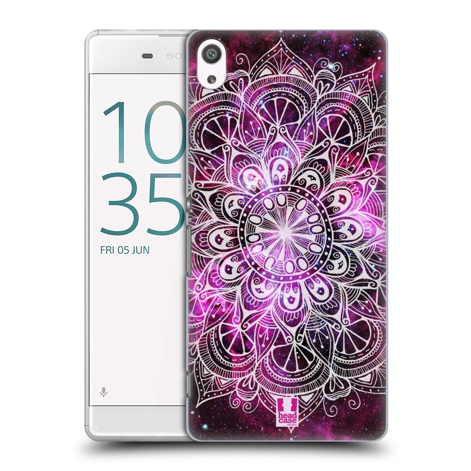 Plastové pouzdro na mobil Sony Xperia XA Ultra HEAD CASE Mandala Doodle Nebula