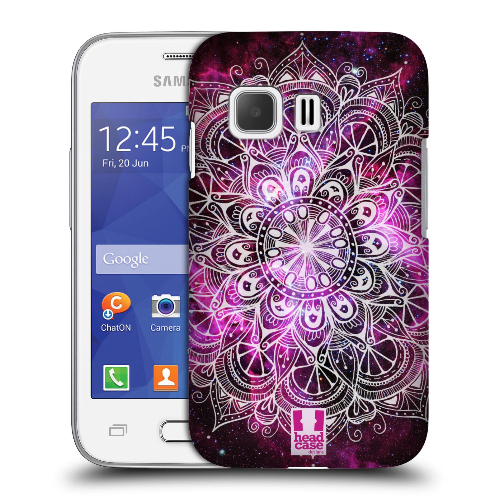 Plastové pouzdro na mobil Samsung Galaxy Young 2 HEAD CASE Mandala Doodle Nebula (Kryt či obal na mobilní telefon Samsung Galaxy Young 2 SM-G130)