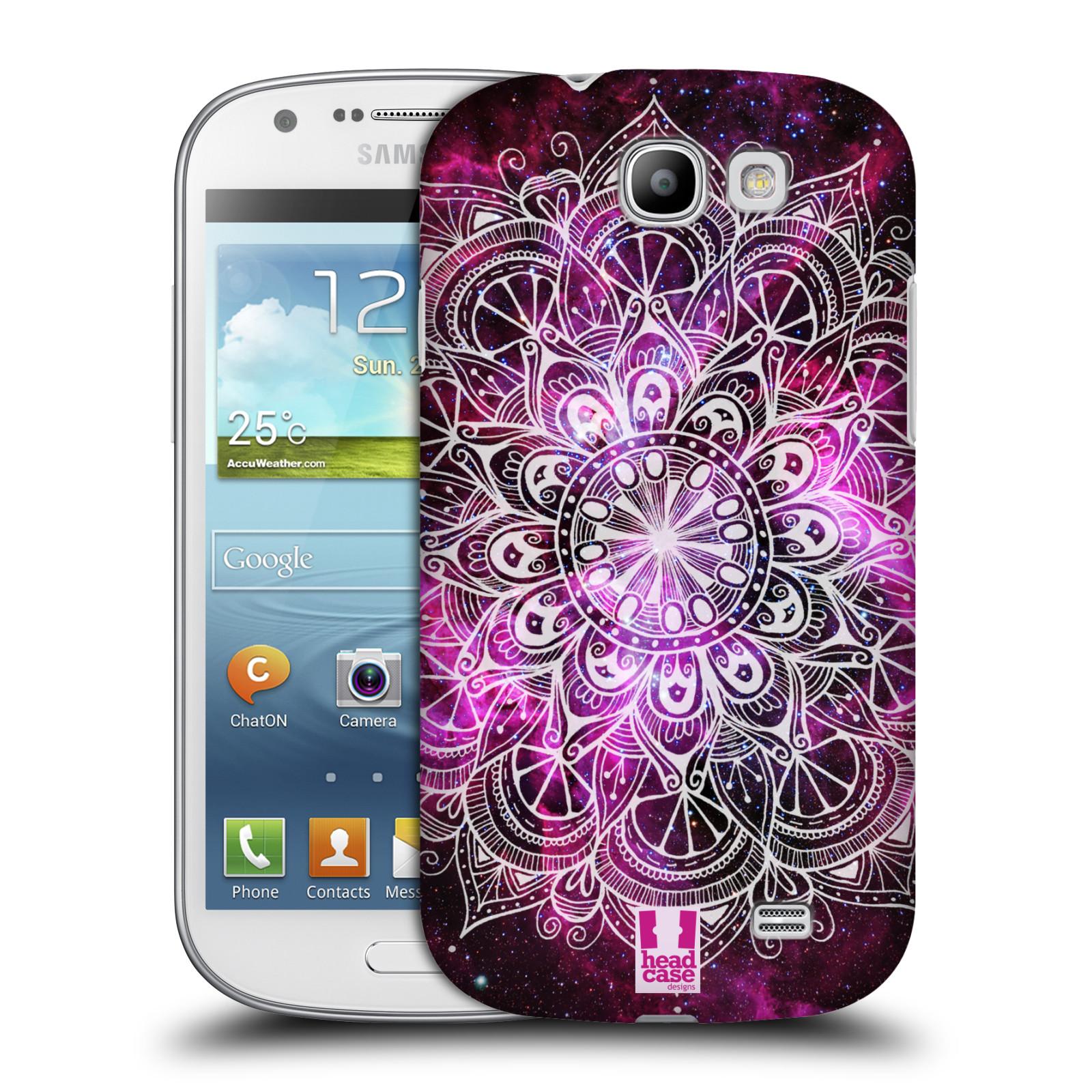 Plastové pouzdro na mobil Samsung Galaxy Express HEAD CASE Mandala Doodle Nebula (Kryt či obal na mobilní telefon Samsung Galaxy Express GT-i8730)