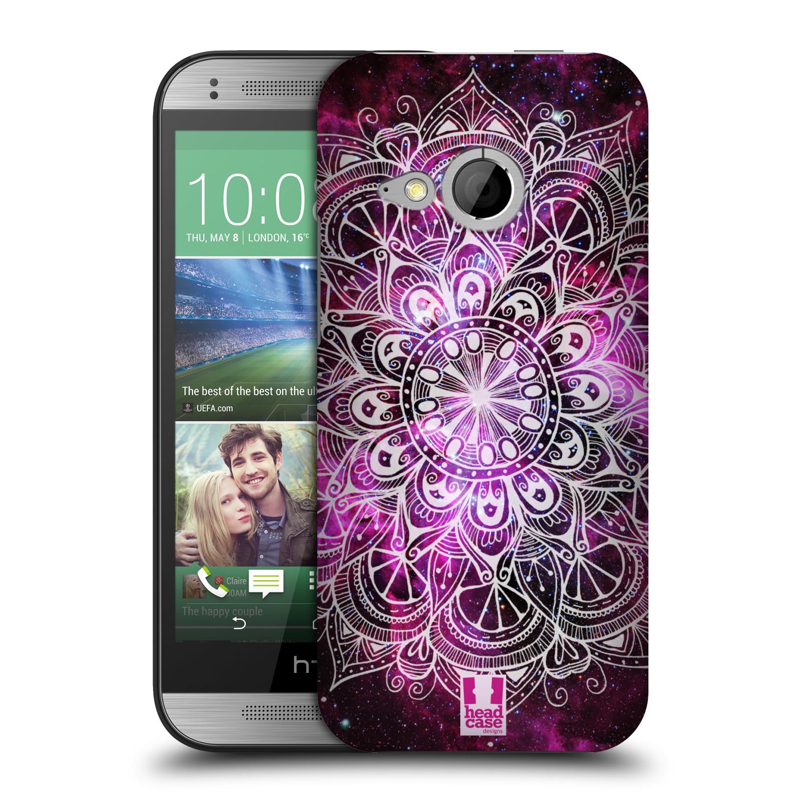 Plastové pouzdro na mobil HTC ONE Mini 2 HEAD CASE Mandala Doodle Nebula (Kryt či obal na mobilní telefon HTC ONE Mini 2)