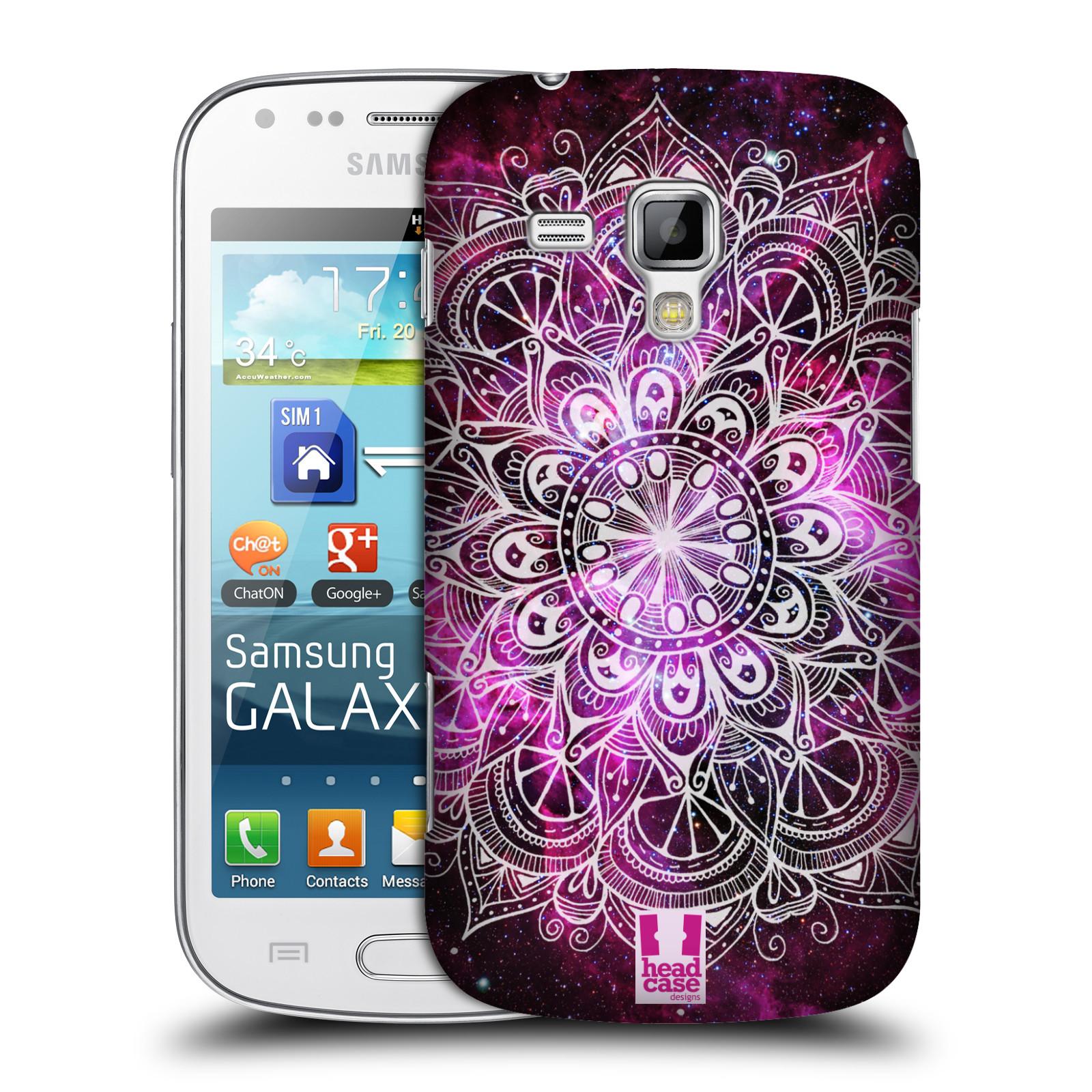 Plastové pouzdro na mobil Samsung Galaxy Trend Plus HEAD CASE Mandala Doodle Nebula (Kryt či obal na mobilní telefon Samsung Galaxy Trend Plus GT-S7580)