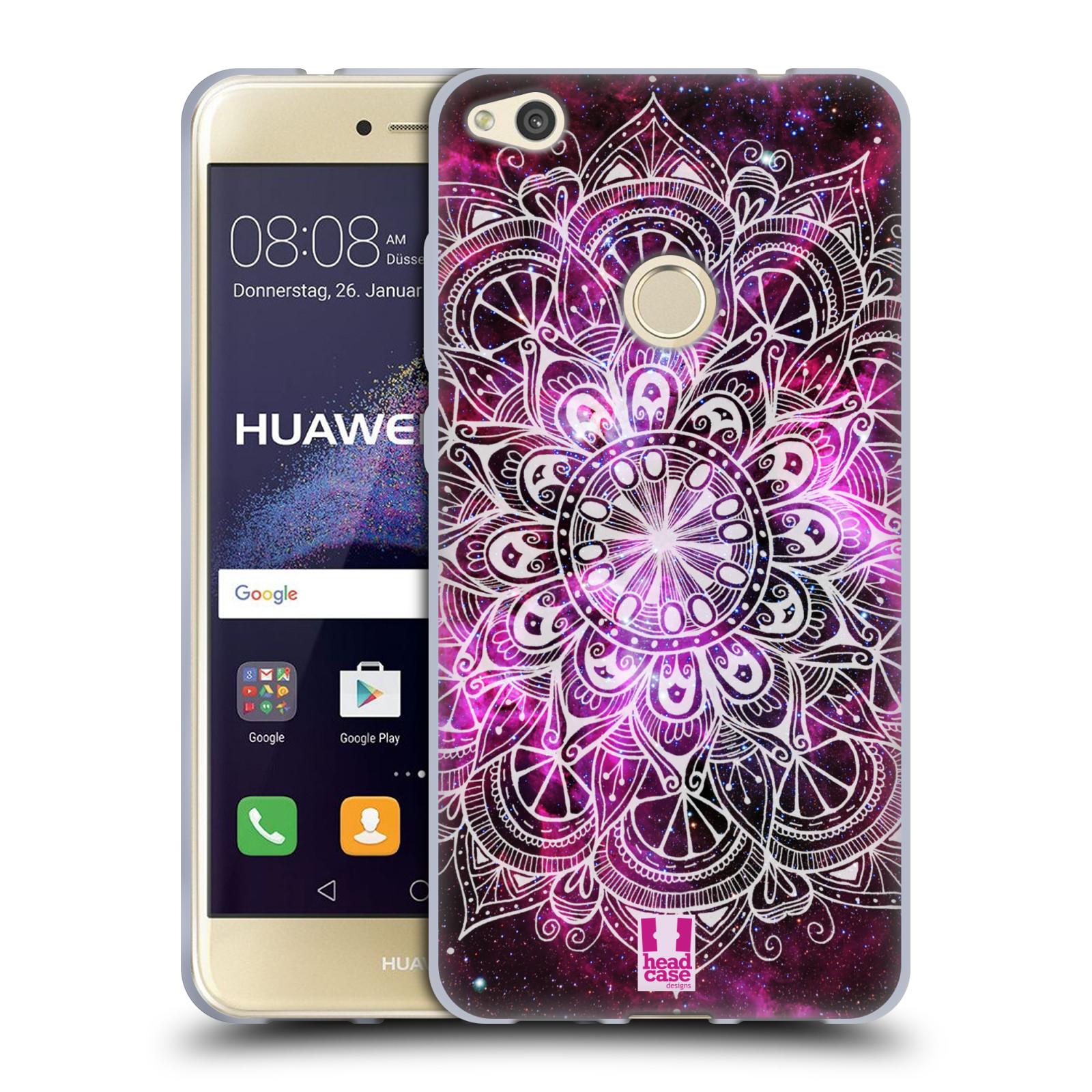 Silikonové pouzdro na mobil Huawei P9 Lite (2017) HEAD CASE Mandala Doodle Nebula