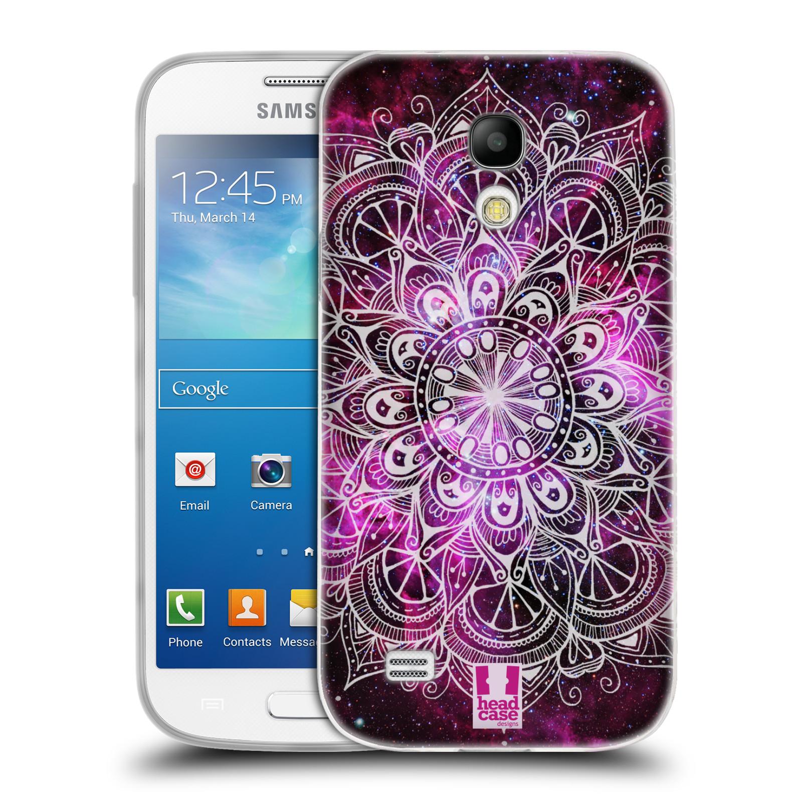 Silikonové pouzdro na mobil Samsung Galaxy S4 Mini HEAD CASE Mandala Doodle Nebula (Silikonový kryt či obal na mobilní telefon Samsung Galaxy S4 Mini GT-i9195 / i9190)
