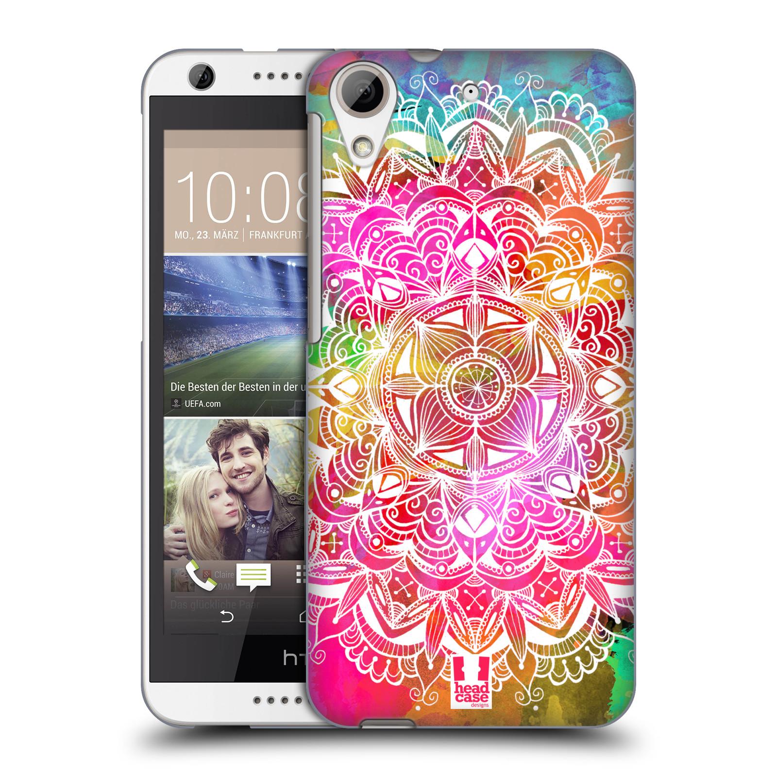 Plastové pouzdro na mobil HTC Desire 626 / 626G HEAD CASE Mandala Doodle Watercolour (Kryt či obal na mobilní telefon HTC Desire 626G Dual SIM a HTC Desire 626)