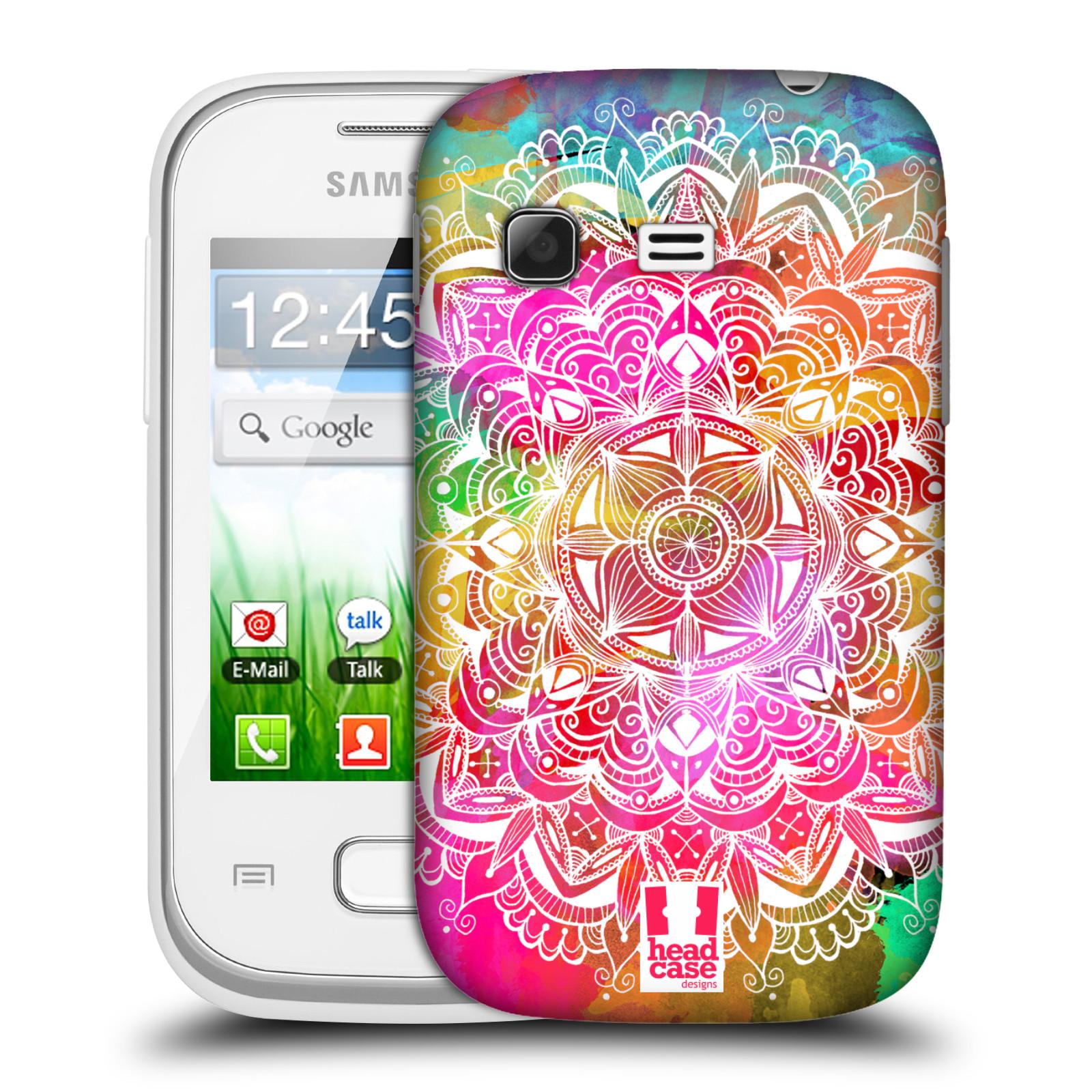 Plastové pouzdro na mobil Samsung Galaxy Pocket HEAD CASE Mandala Doodle Watercolour (Kryt či obal na mobilní telefon Samsung Galaxy Pocket GT-S5300)